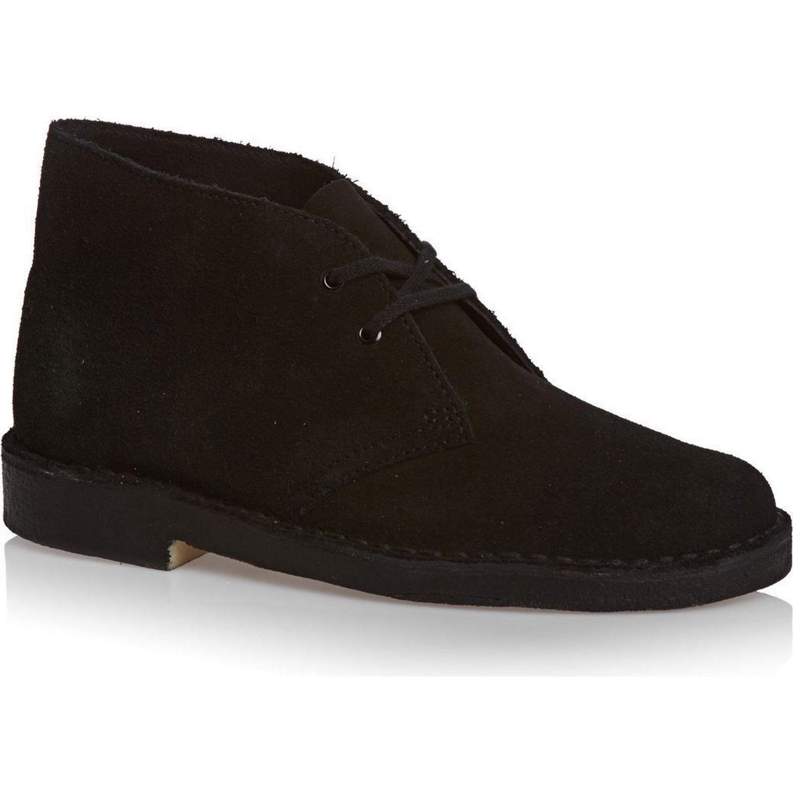 Clarks Originals Women's Clarks Originals Boots - Clarks Black Originals Desert Boots - Black Clarks 0b652d