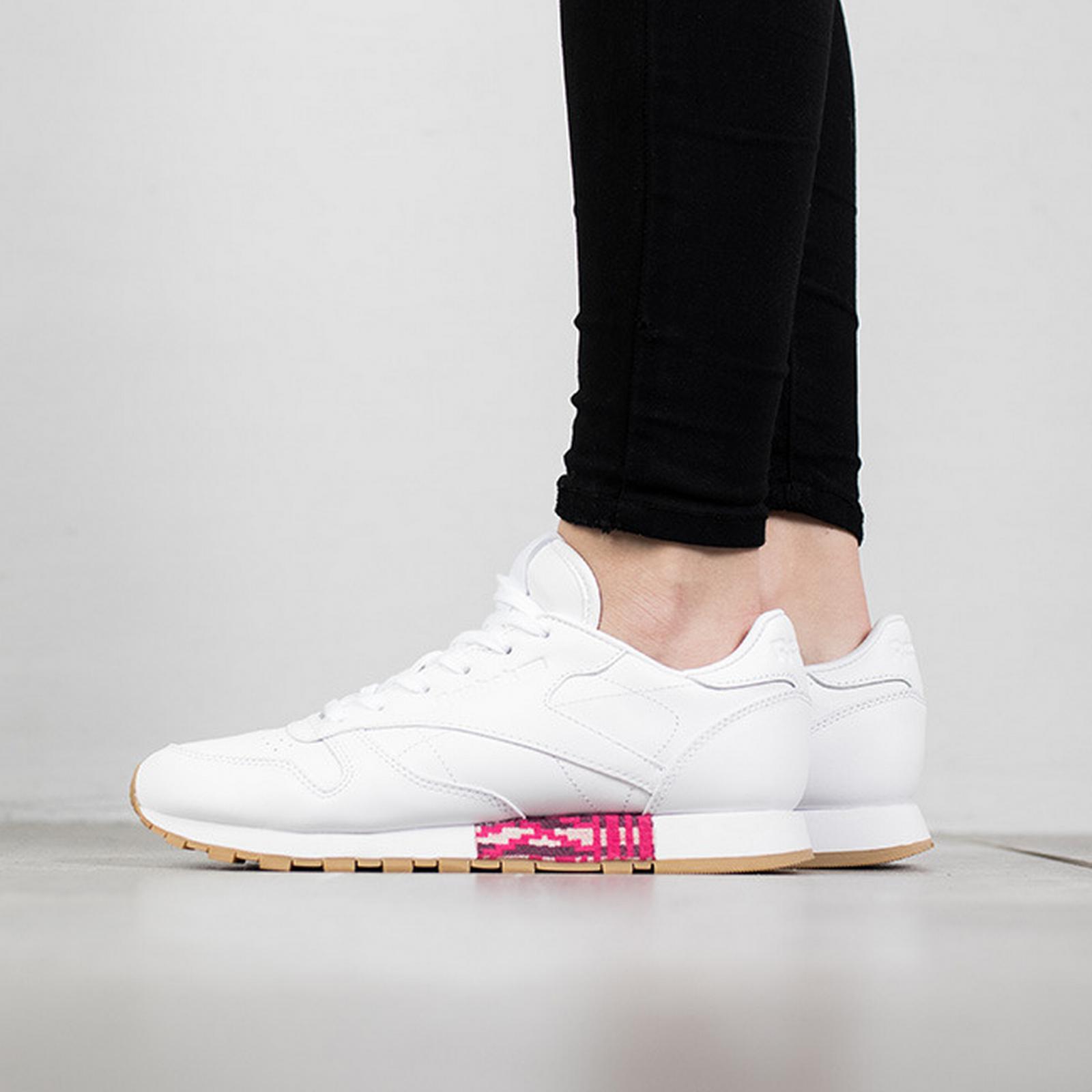 Reebok Classic Classic Women's Shoes sneakers Reebok Classic Classic Leather Old Meets BD3156 WHITE Size 40 4befa8