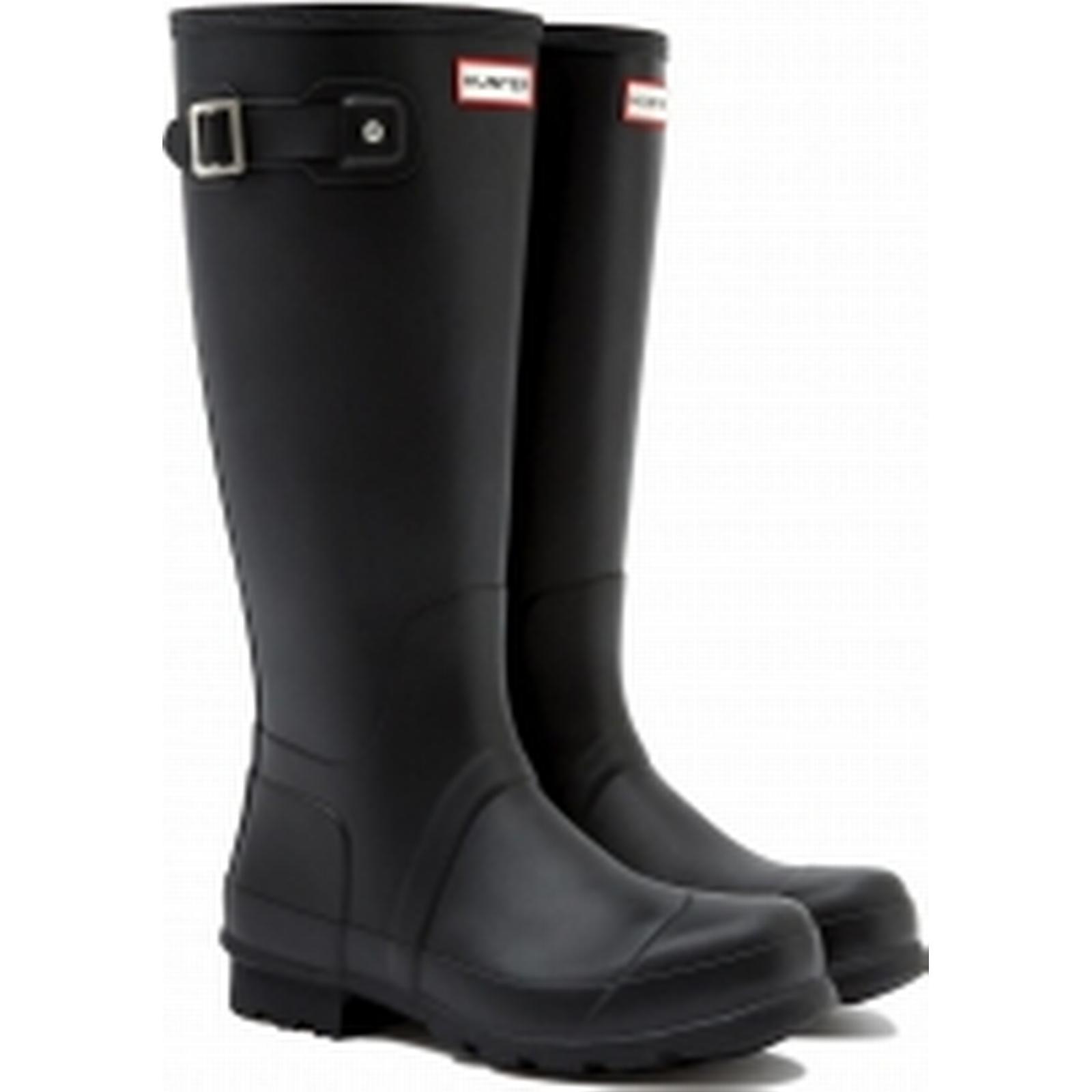 Hunter Mens Original UK Tall Wellington Boots, Black, UK Original 11 66d048