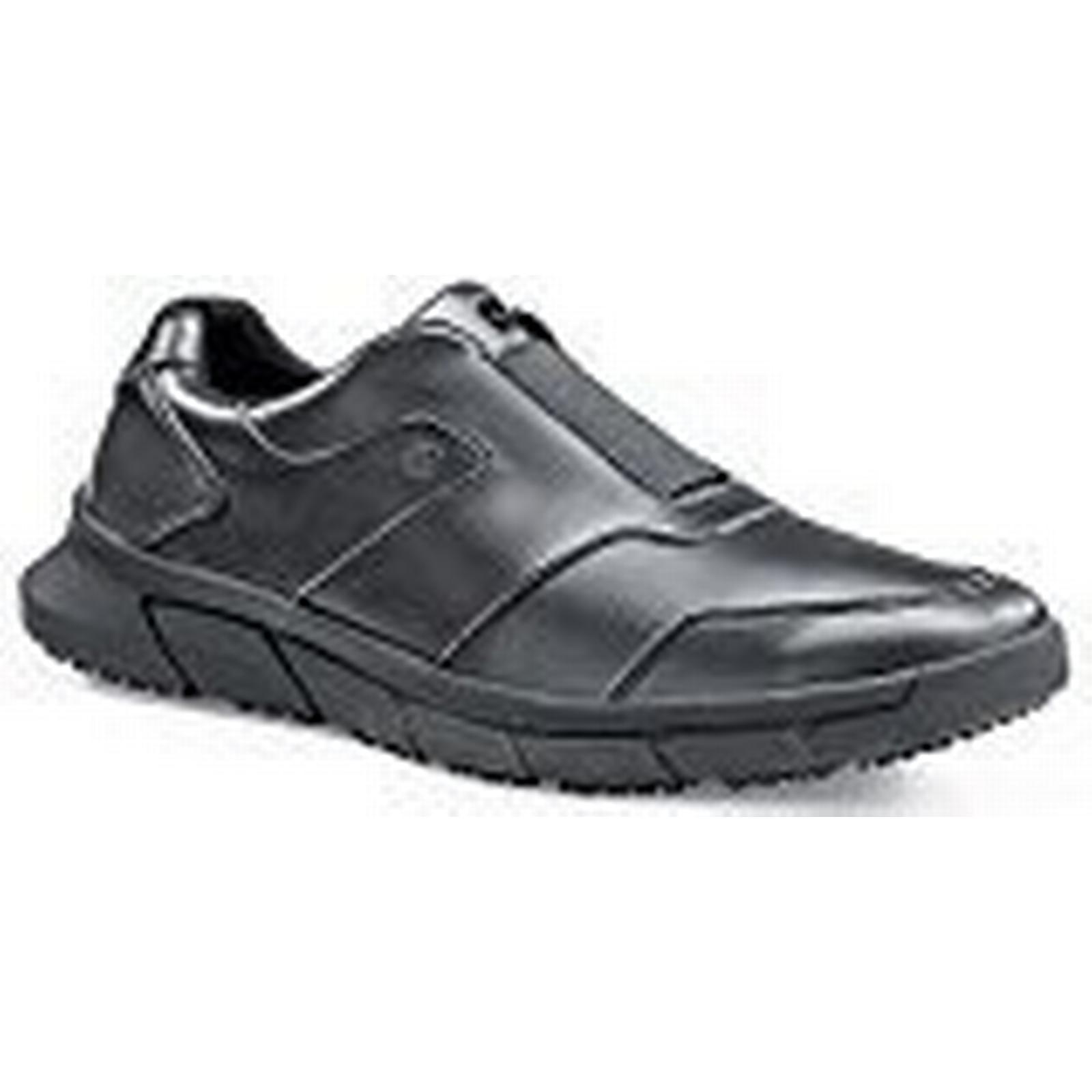 Shoes for Crews 36479-43/9 Style Grayson Men's Slip Black Resistant Shoes, Size 9, Black Slip - EN safety certified 9f5849