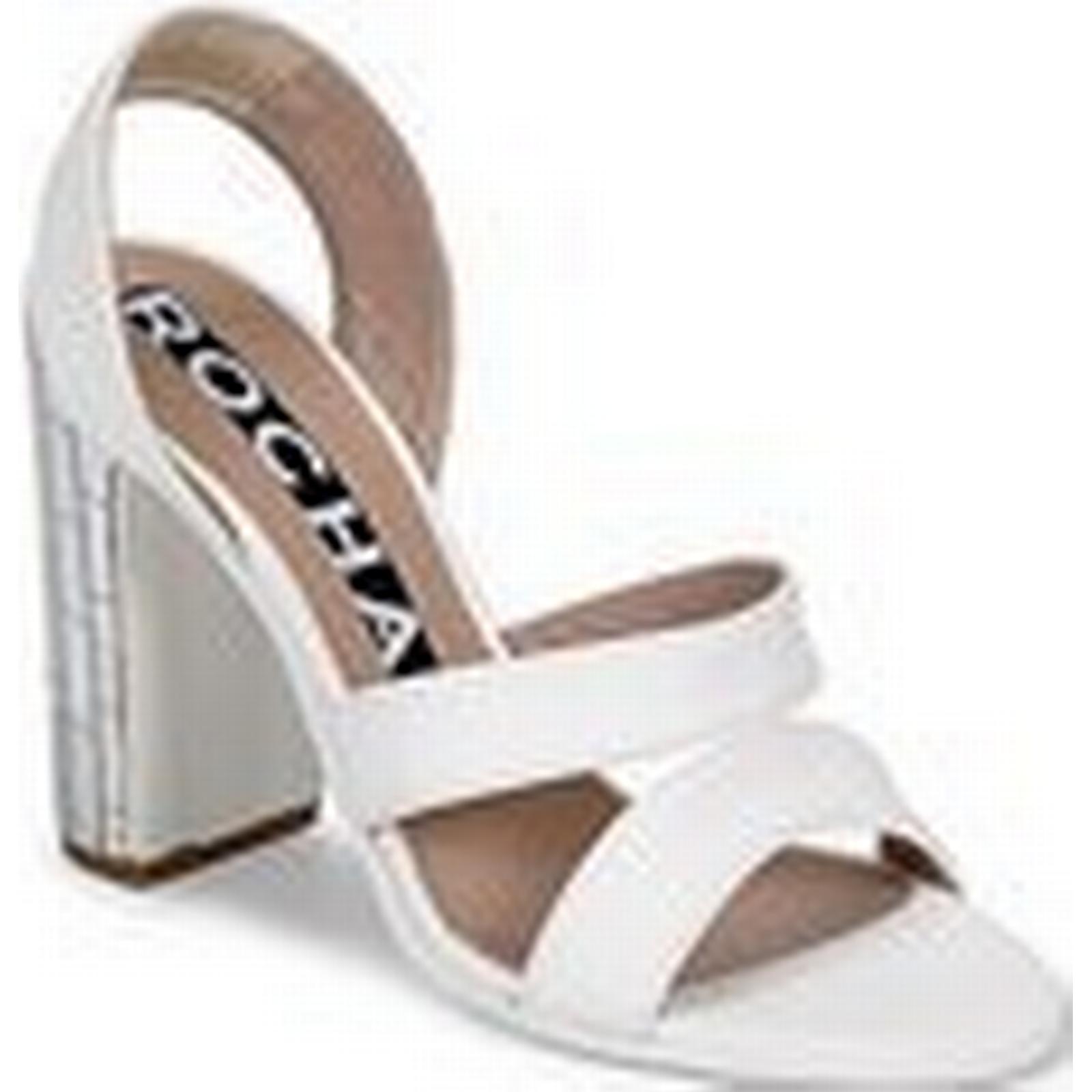 Rochas  RO18244   RO18244 women's Sandals in White e6b54c