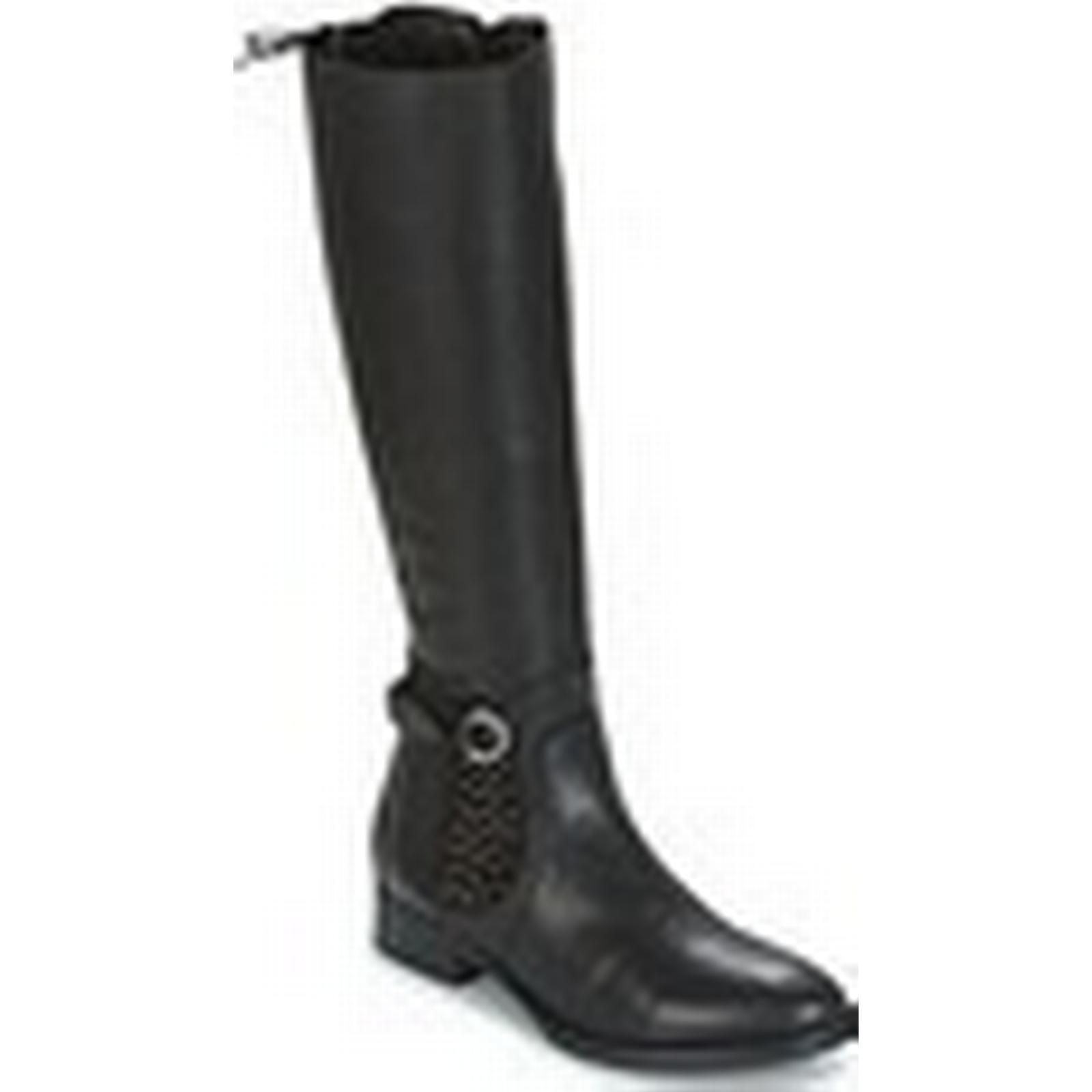 en ce qui concerne les femmes et # rufati # et  27; s des bottes hautes en noir 367ecb