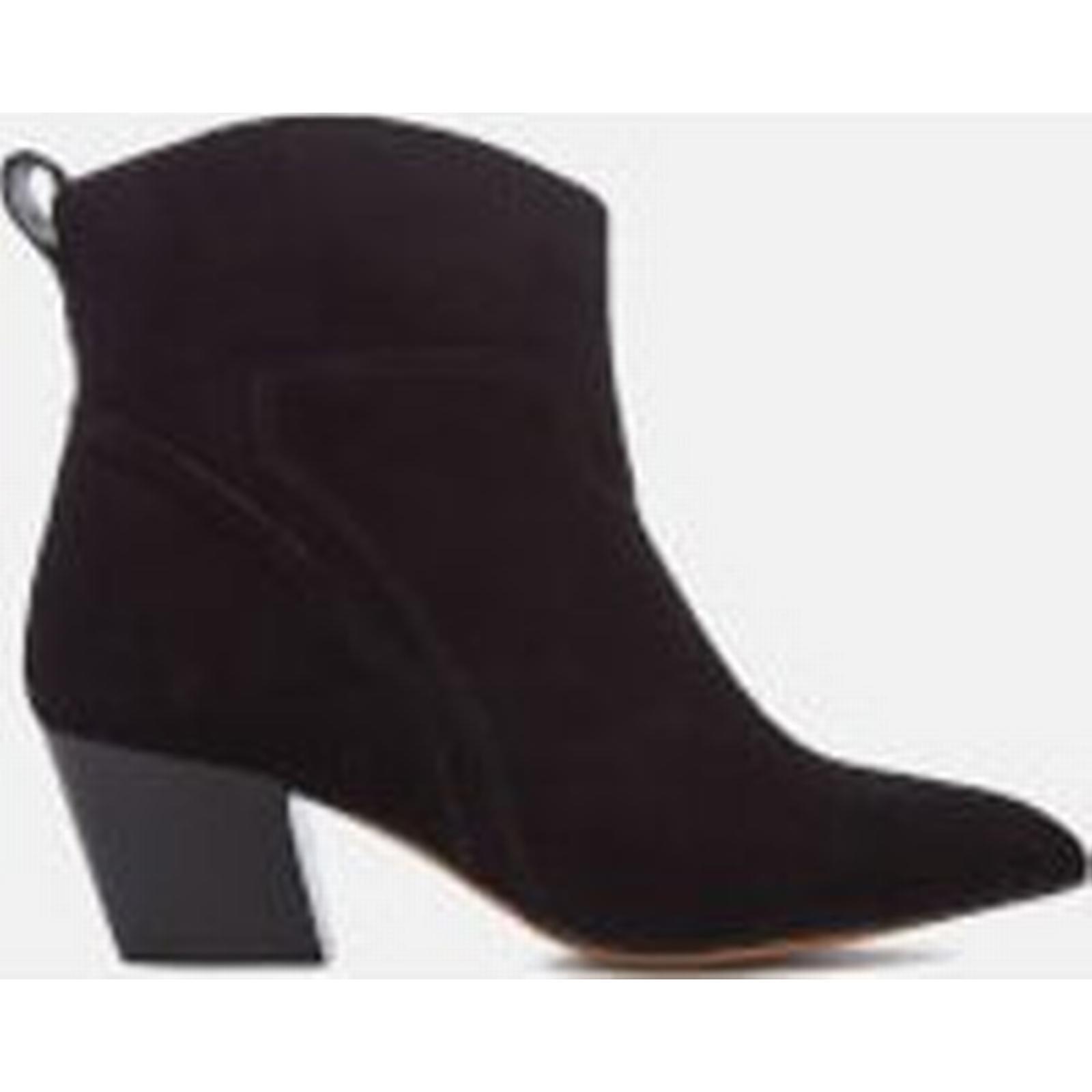 hudson london     & # ; s karyn en daim noir bottines - talons 4c169d