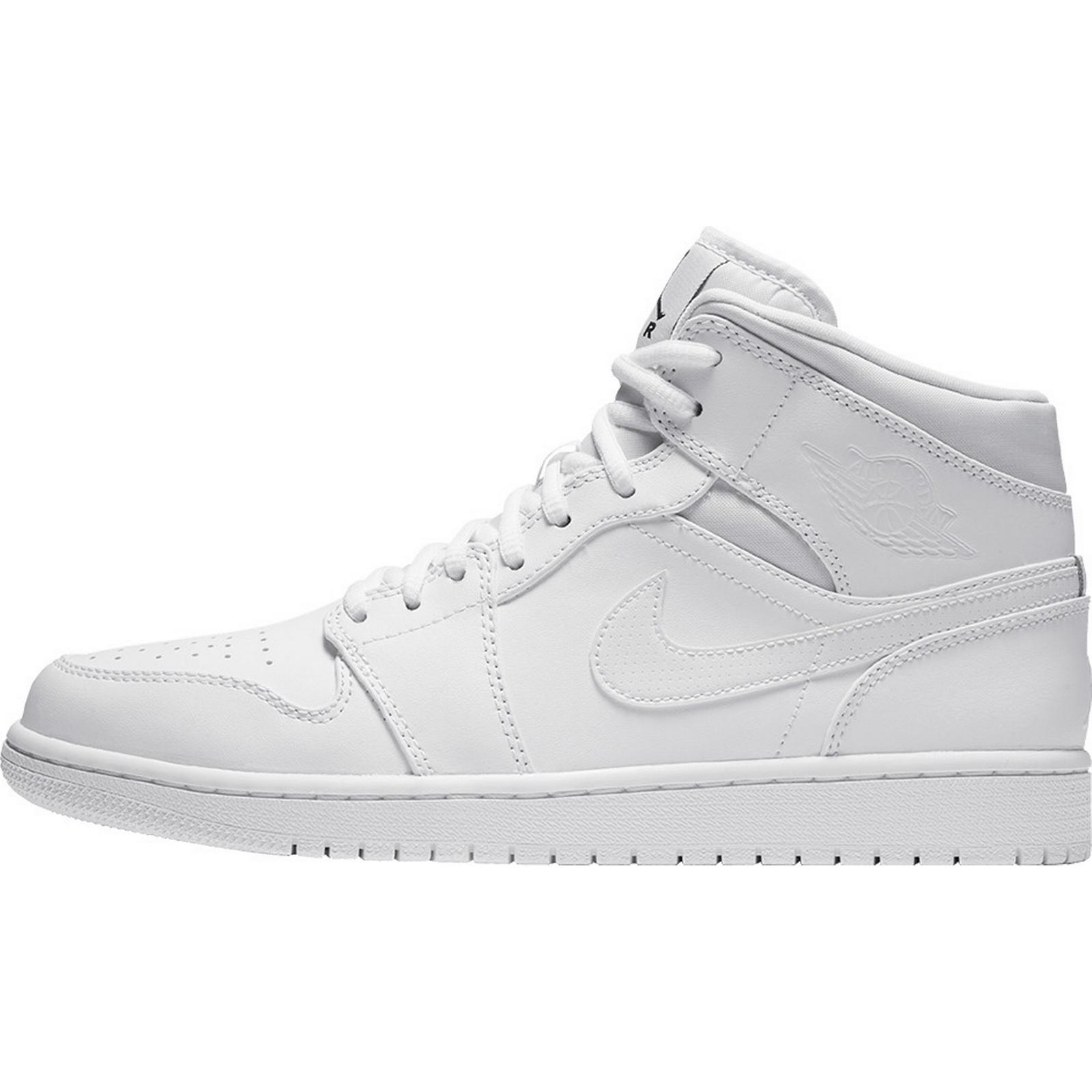 Jordan Air 1 BG Mid BG 1 - Wit 1e2181