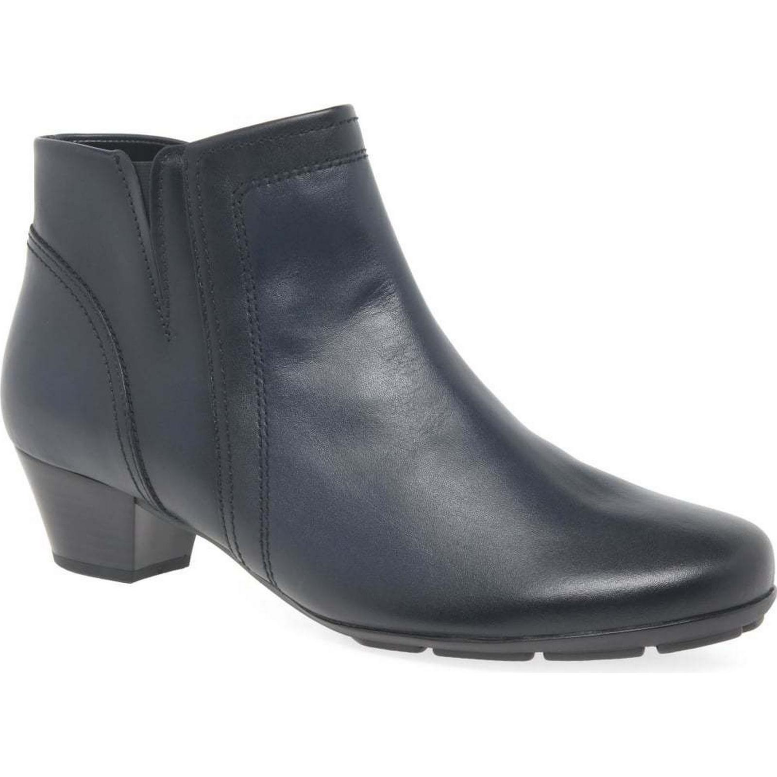 Gabor Boots Heritage Womens Modern Ankle Boots Gabor Colour: River, Size: 3.5 993f05