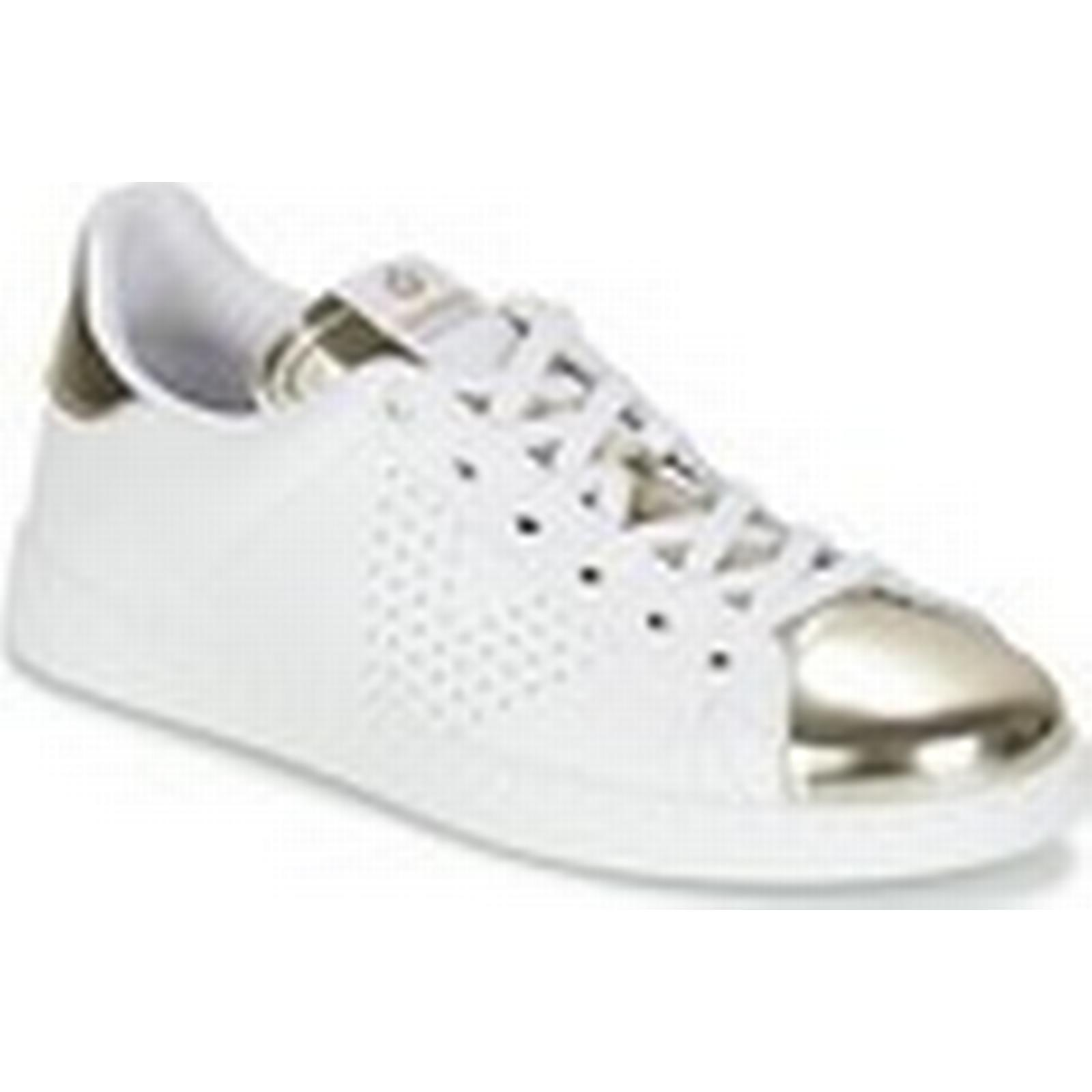 Victoria   Victoria DEPORTIVO CUIR   METALLISE  women's Shoes (Trainers) in White 767ec5