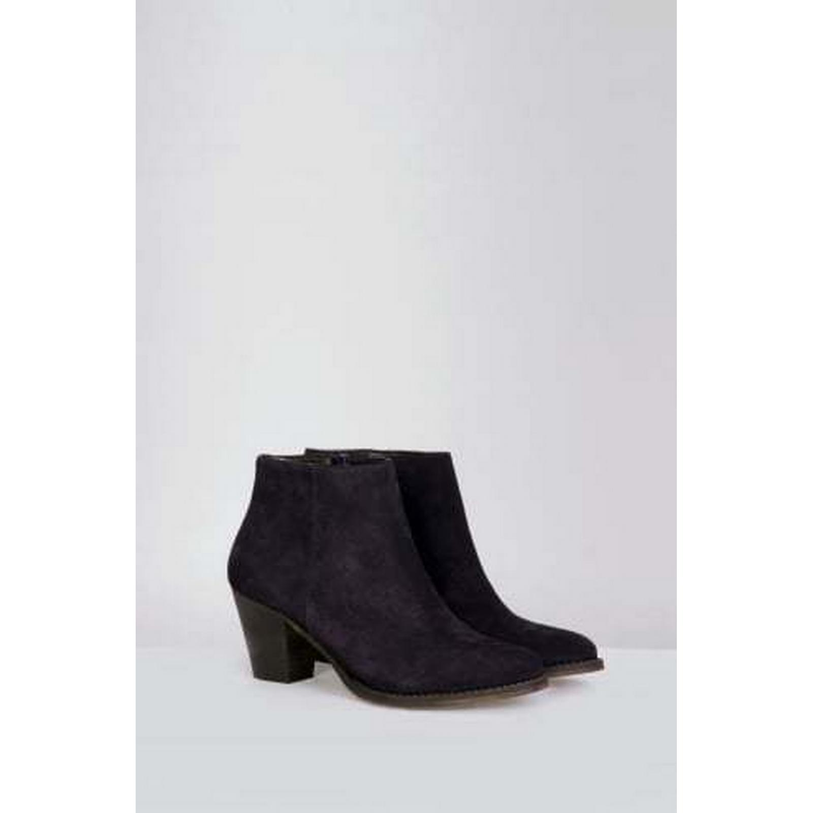 Mistral Sophisticated Navy Sally Suede Boot in Navy Sophisticated 6aa405