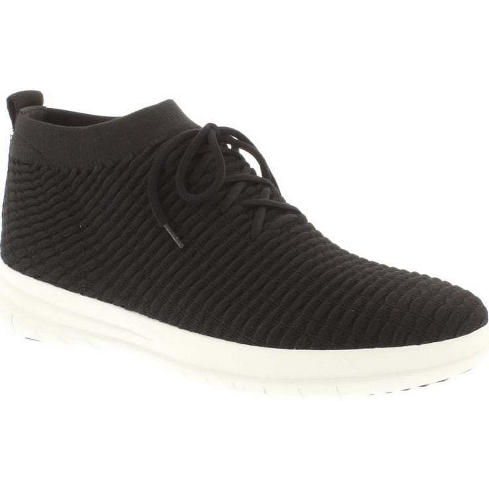 FitFlop™ FitFlop Uberknit Slip On High Top Sneaker  - Size: Black Size: - 11 UK f51713