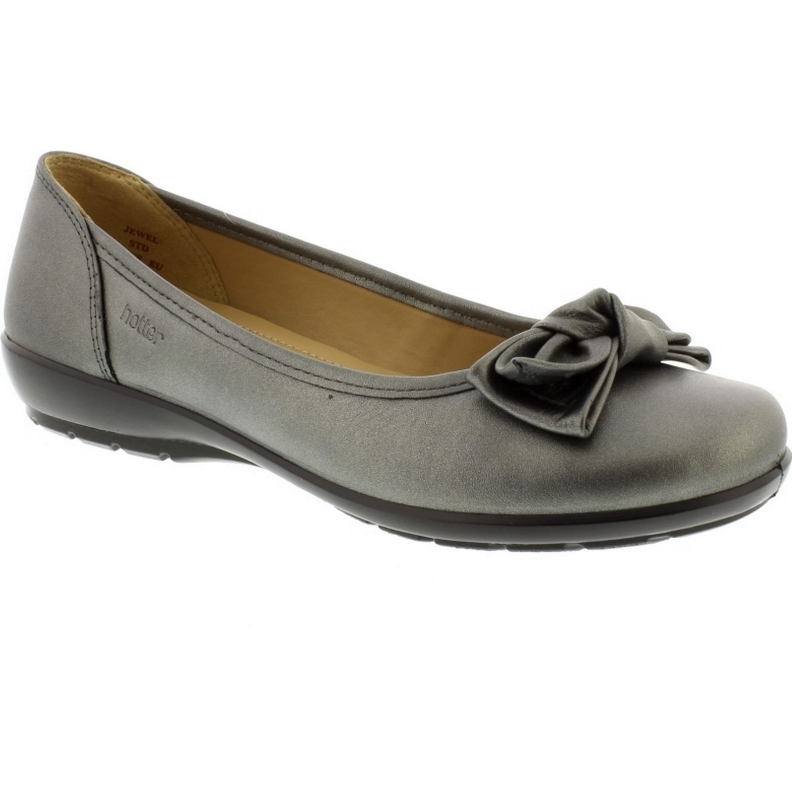 Hotter Originals Jewel  - -  Pewter Leather Size: 4.5 UK 4d54ec