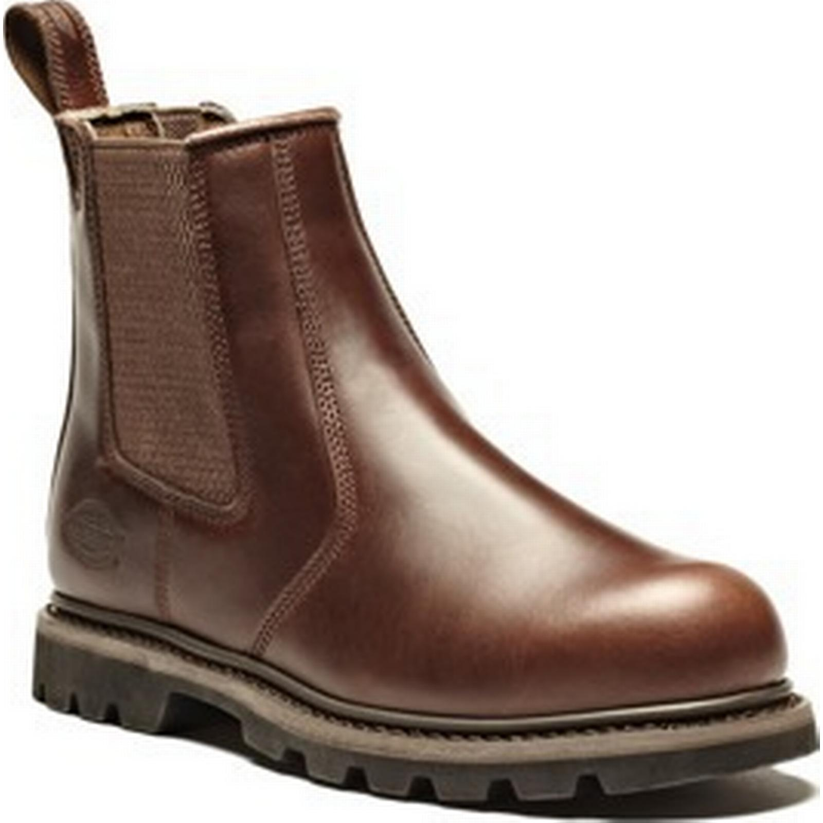 Dickies Workwear Fife Dealer Safety Boot Boot Safety Brown / 5.5 ec683d
