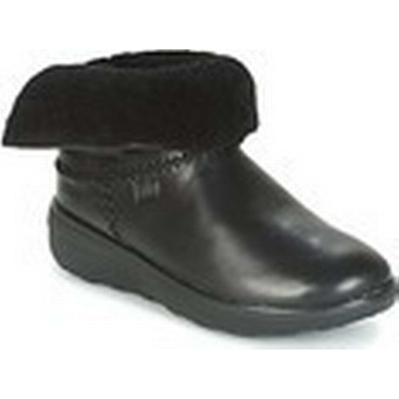 fitflop mukluk shorty # 2 bottes femmes & # shorty  27; s faible bottines en noir fd5132