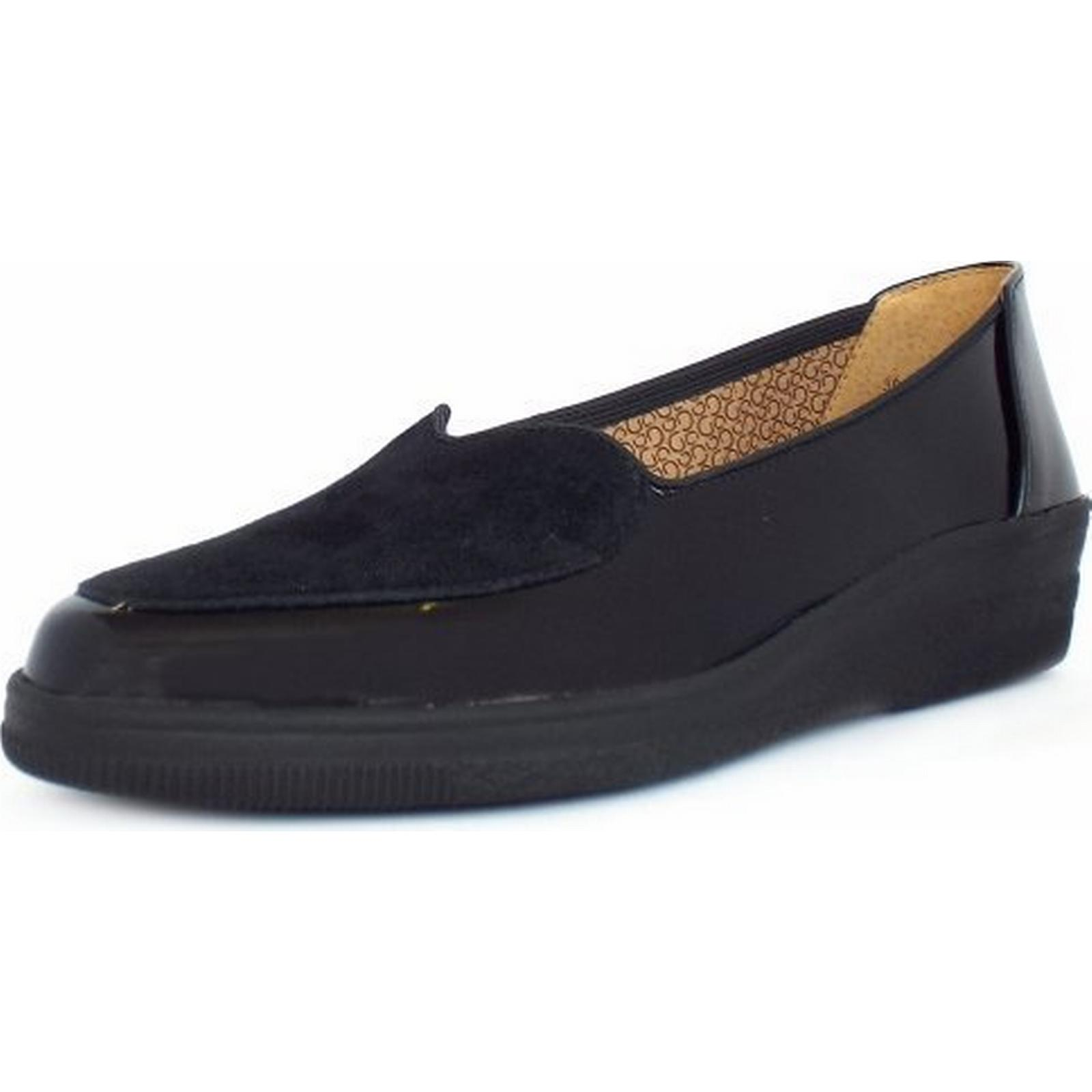 Gabor BLANCHE GABOR LADIES SHOES 36 36 SHOES 404 97 Size: 9, Colour: BLACK PATN 77989b
