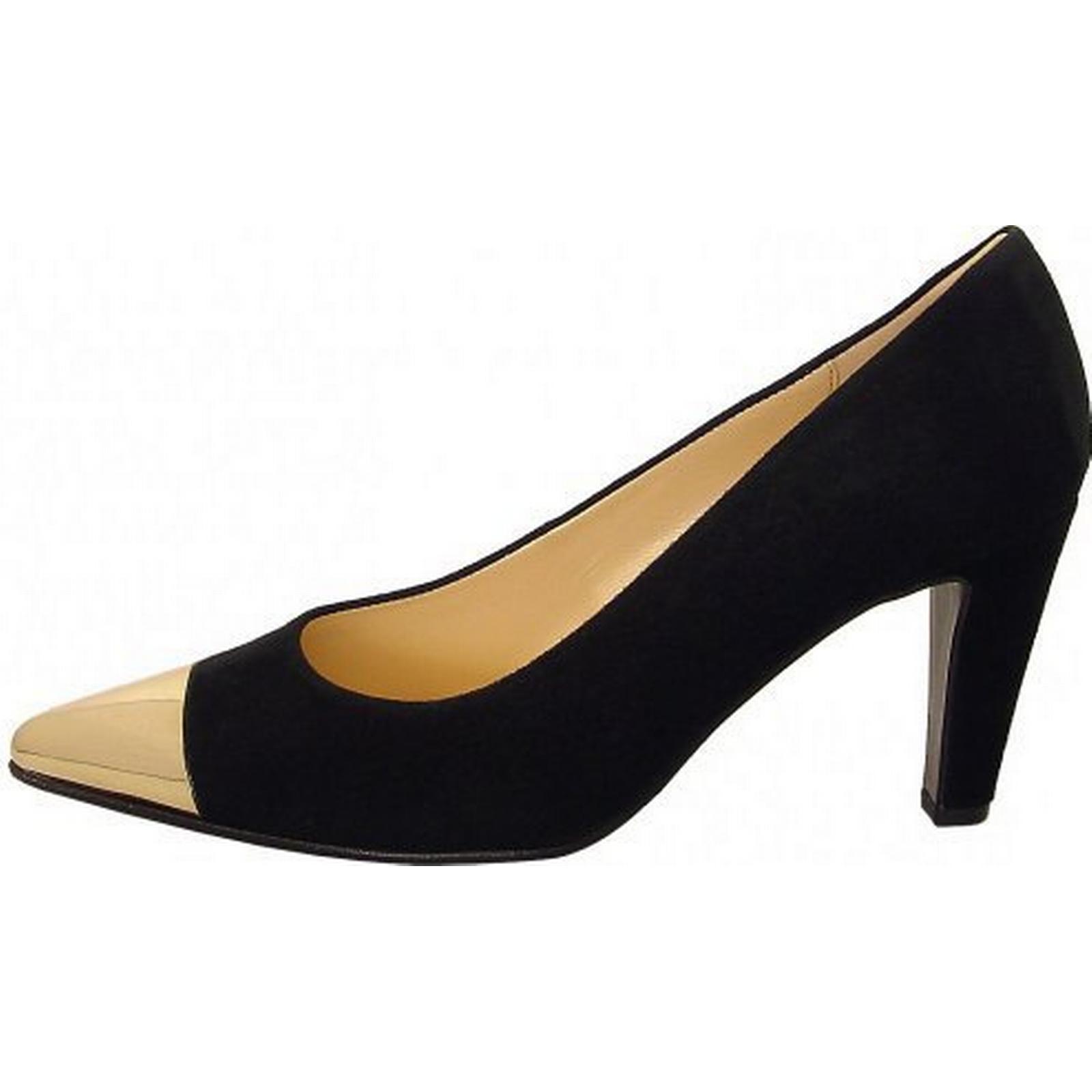 gabor chérir  s cour chaussure en en en daim noir taille: 6, la couleur: noir aa25d4
