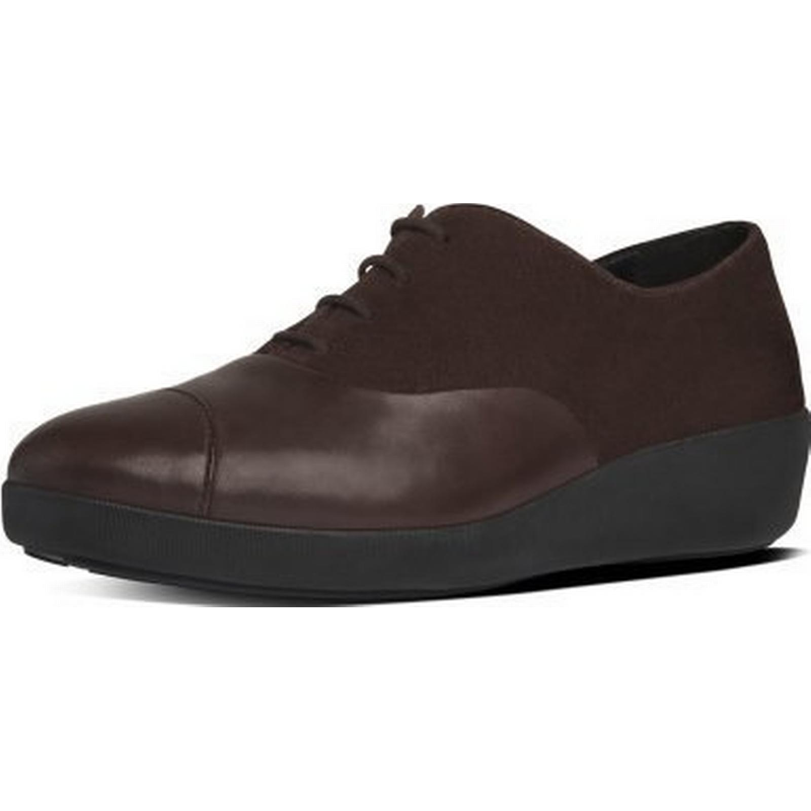 fitflop f-pop oxford oxford oxford fitflop mesdames chaussures taille: 6,5, couleur: noir. 1e3a0e