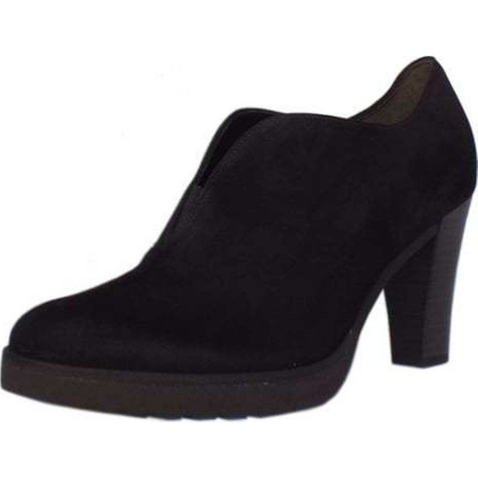 gabor roker gabor 3, mesdames de chaussures en daim taille: 3, gabor la couleur: noir poursuivi 0566fa