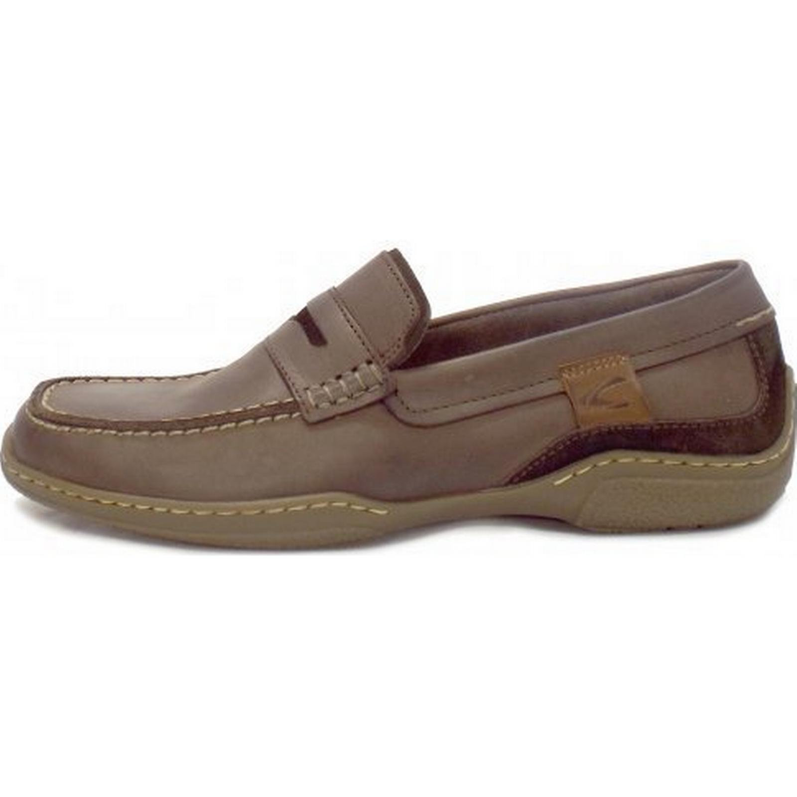 Camel Active Carlton Mens Casual Loafer in Mocca Size: 10.5, Colour: Colour: 10.5, M 30bdad