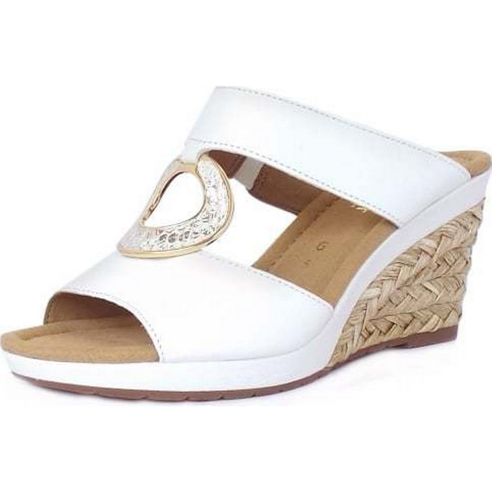 Gabor SIZZLE GABOR LADIES SUMMER SANDALS Size: 5, 5, Size: Colour: WHITE 18fc57