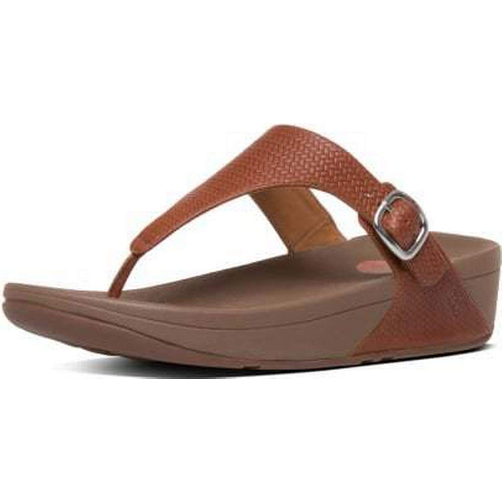 FitFlop THE SKINNY FITFLOP THE SKINNY SANDALS Size: Size: SANDALS 3, Colour: DARK TA 296f36