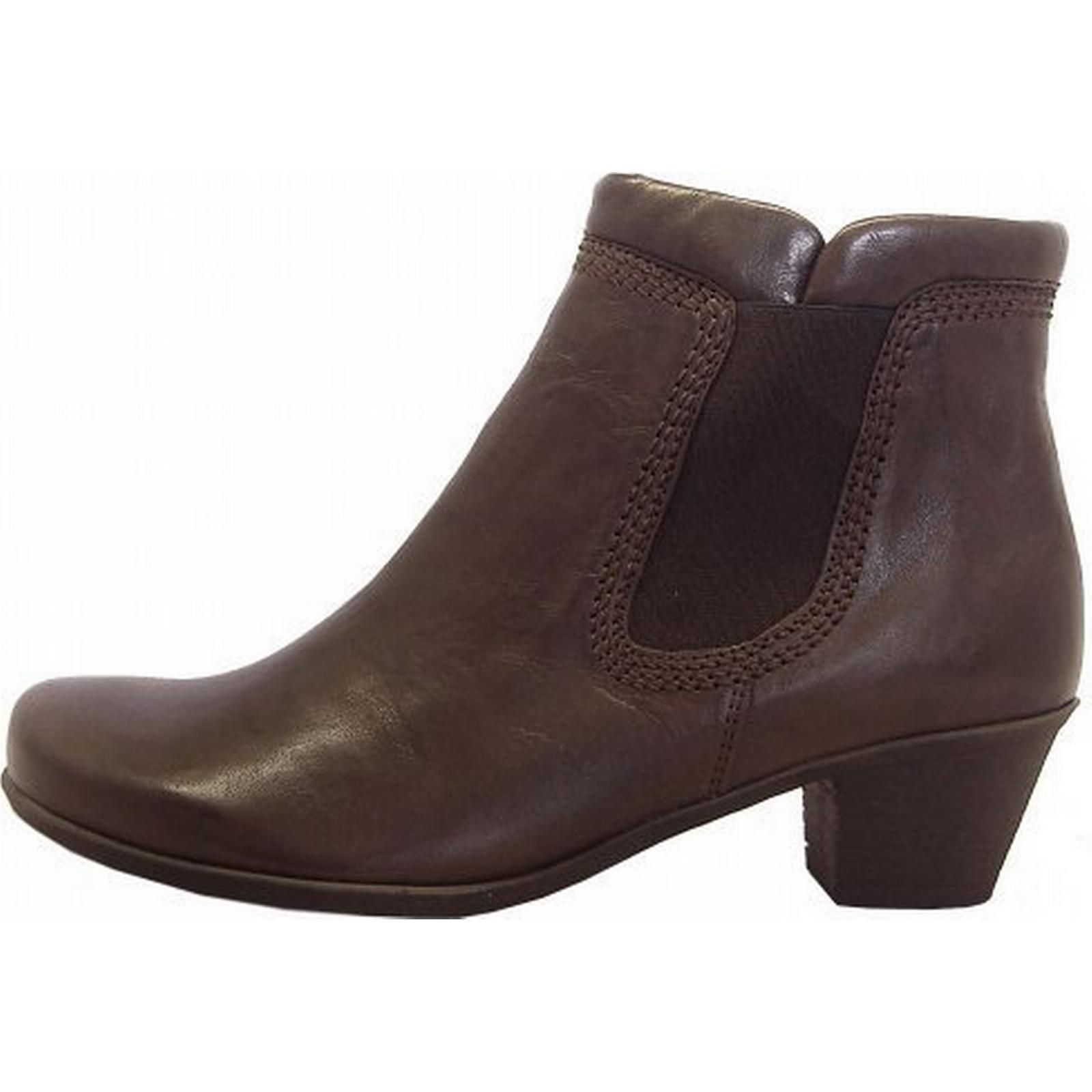 gabor bien bottes faible taille de bottes bien à talon brun: 3, couleur: e6341c