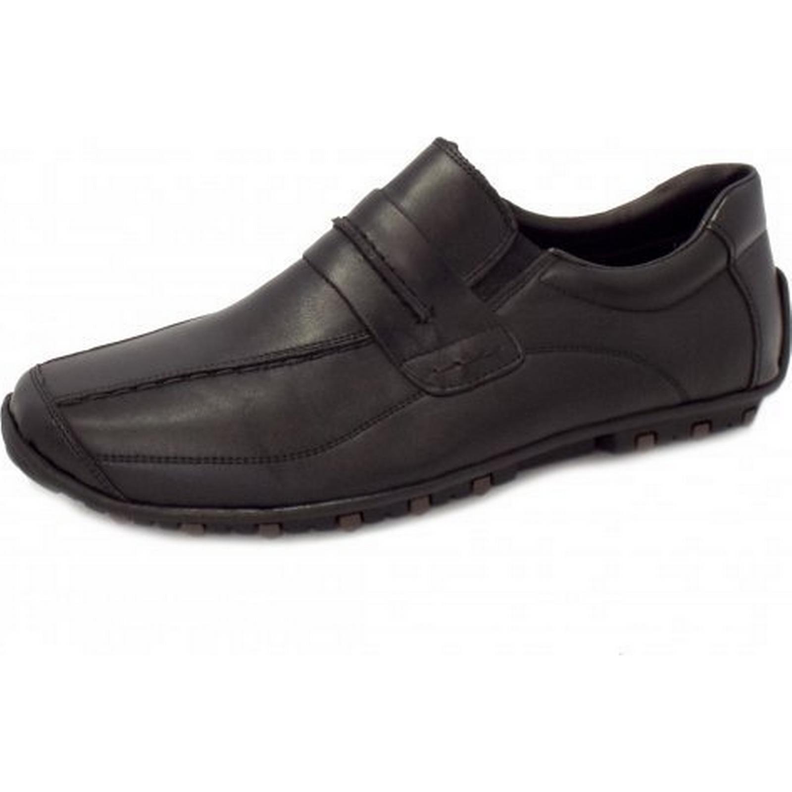 chaussures rieker à enfiler rieker chaussures draper de noir taille: 39, la couleur: noir ad3b24