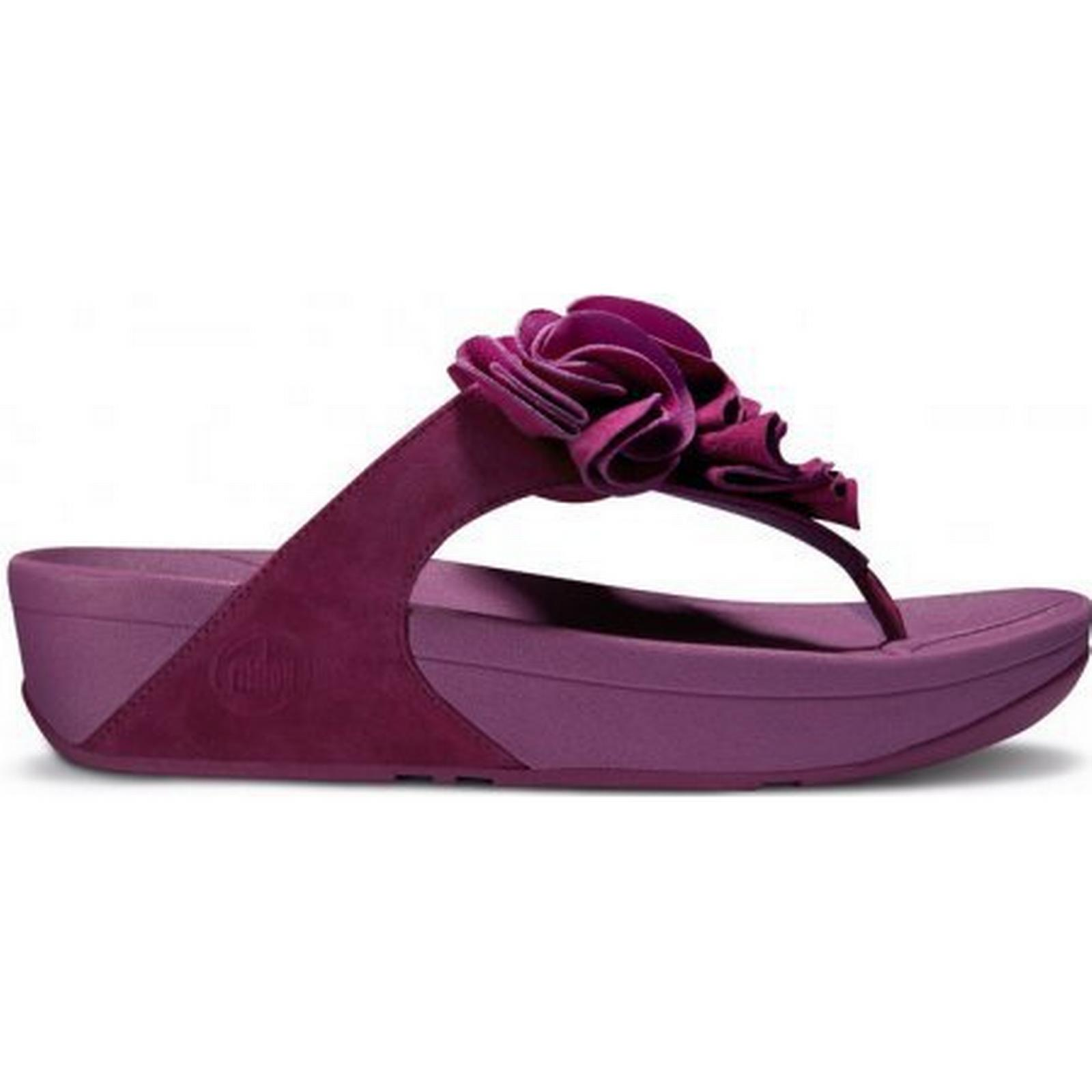 FitFlop Frou sandal womens sandal Frou in cosmic purple Size: 4, Colour: PURPLE 6f37d7