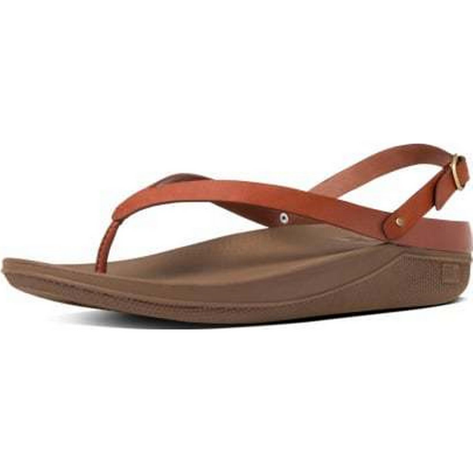 FitFlop FLIP FITFLOP FLIP LADIES SANDALS SANDALS LADIES Size: 8, Colour: DARK TAN 7aa0a8