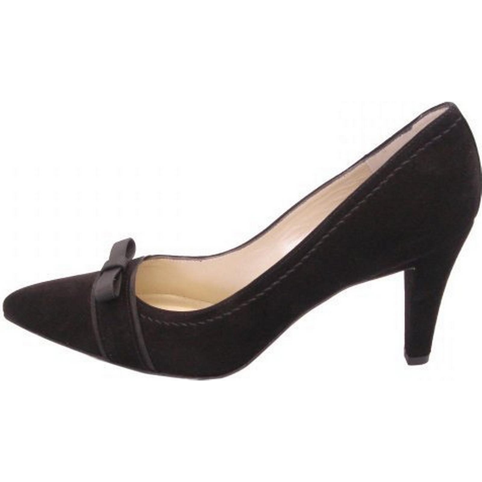 peter kaiser vermala taille de chaussures en en en daim noir habillés cour: 4.5, colo adb15c
