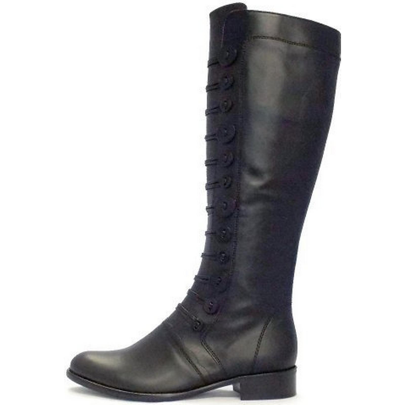 Gabor Argyll Womens Long Boot In Black Size: 6.5, Colour: BLACK BLACK Colour: 1bf855