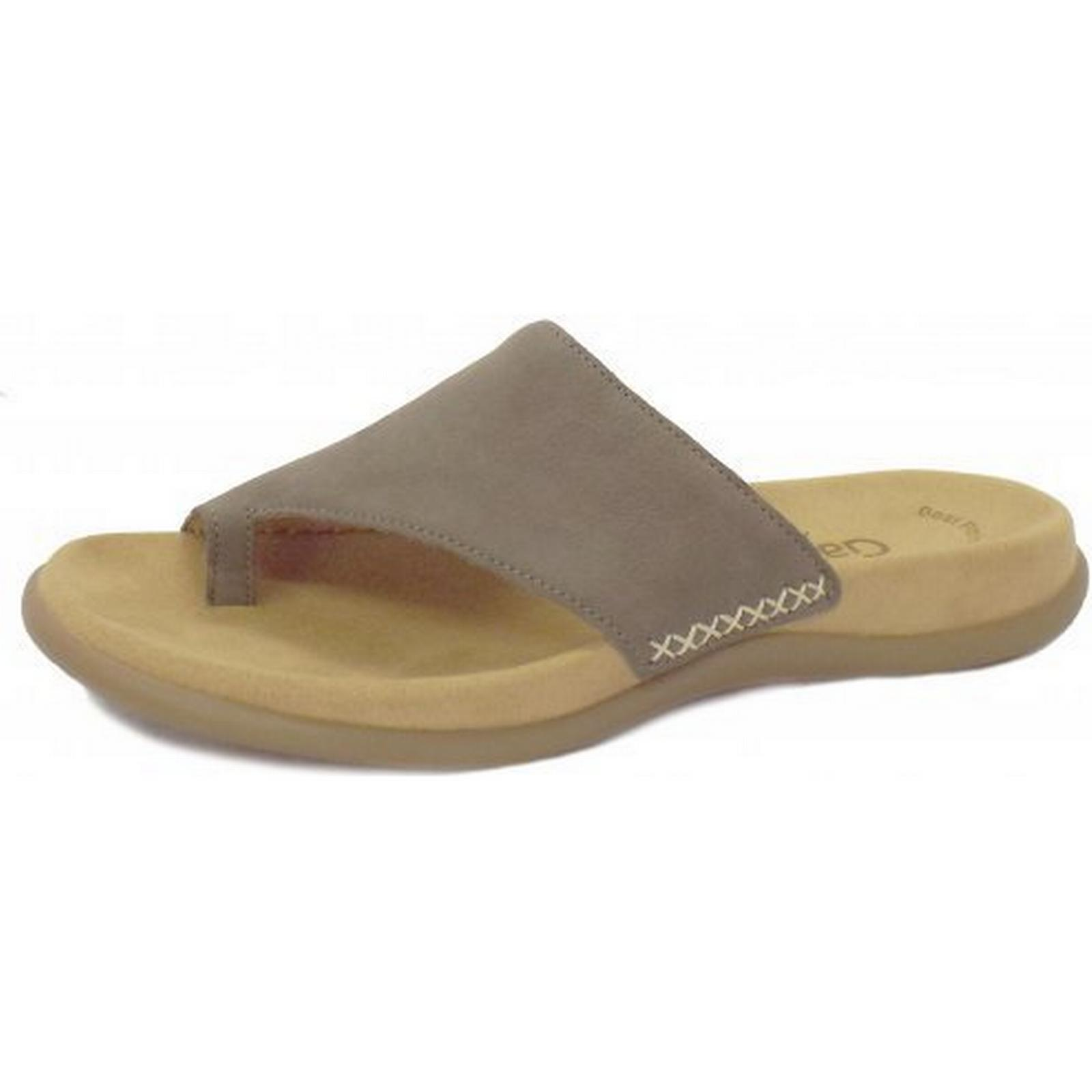 gabor lanzarote gabor gabor gabor mesdames les sandales de lanzarote, taille: 39, couleur: gris clair. d5af5a