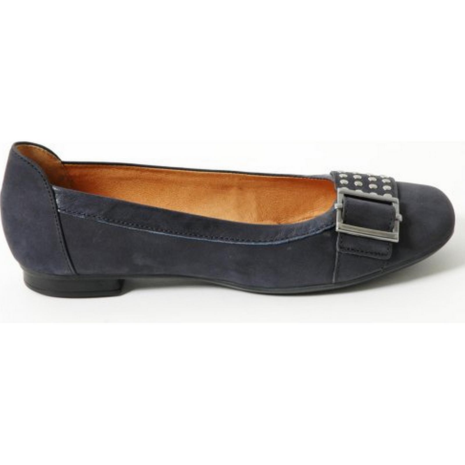 Gabor womens Pailor womens Gabor flat shoe Size: 4.5, Colour: NAVY 88a254