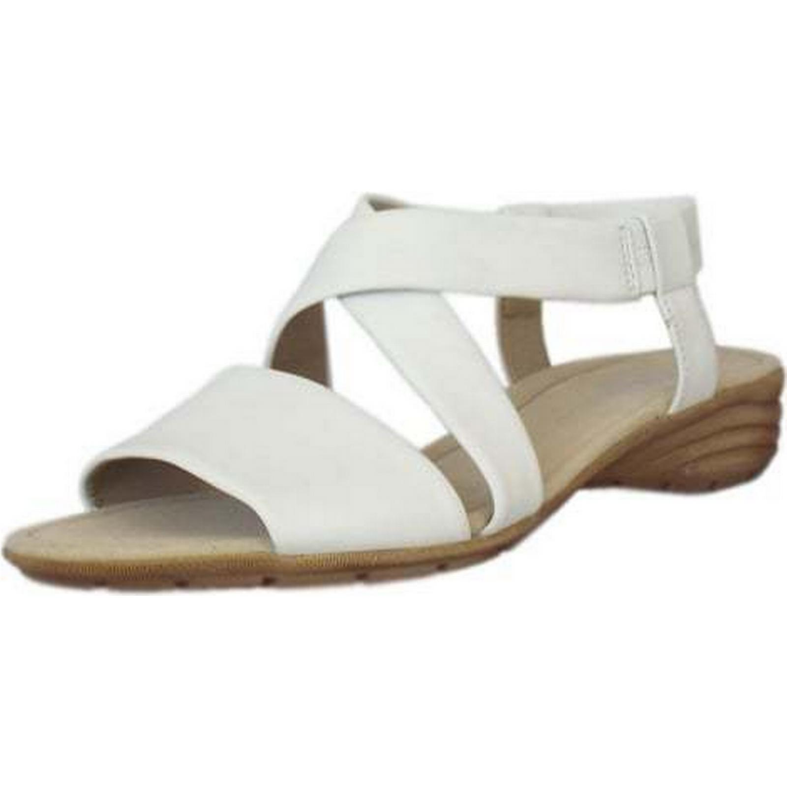 Gabor ENSIGN GABOR GABOR ENSIGN LADIES SUMMER SANDALS Size: 6, Colour: WHITE a7d191
