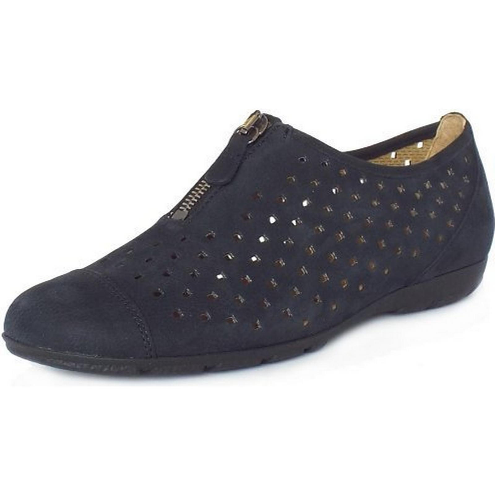 Gabor GIBSON GABOR LADIES SHOES SHOES LADIES Size: 7.5, Colour: NAVY 5f4175
