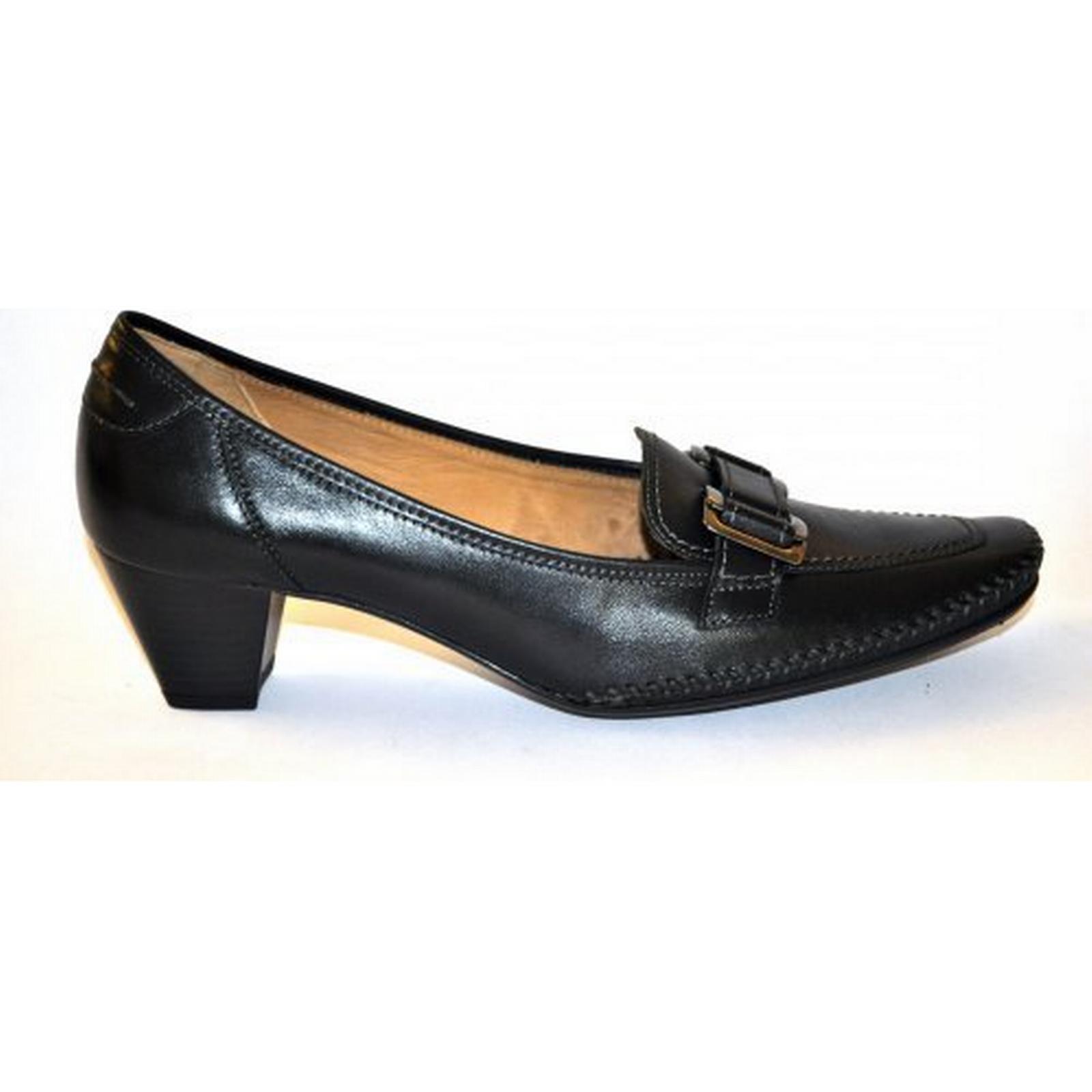 Gabor 0380 45mm heel ladies shoe Size: 7.5, 7.5, Size: Colour: BLACK da8cf4