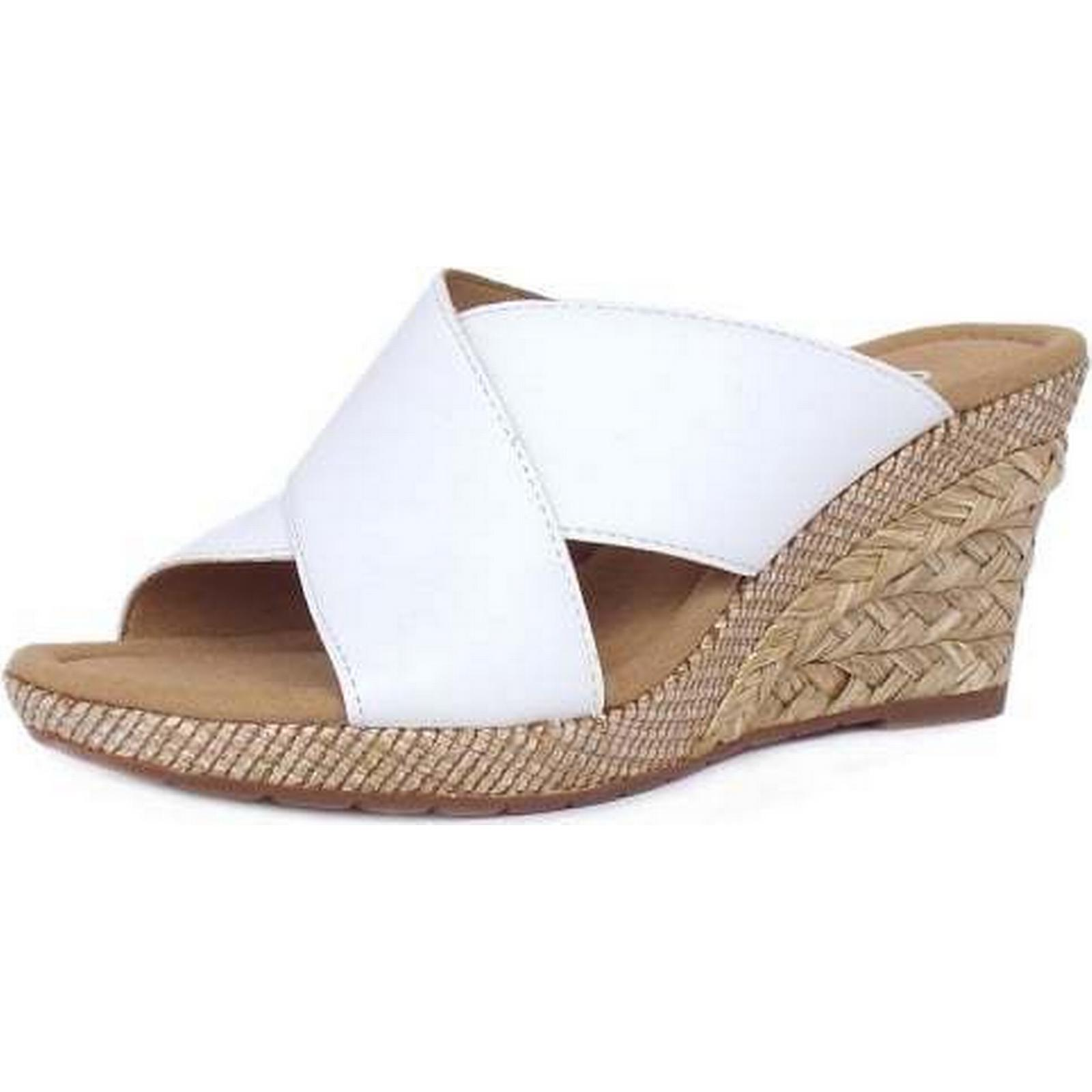 Gabor PURPOSE GABOR WEDGE SANDALS 62 62 SANDALS 829 50 Size: 5, Colour: WHITE 186d2a