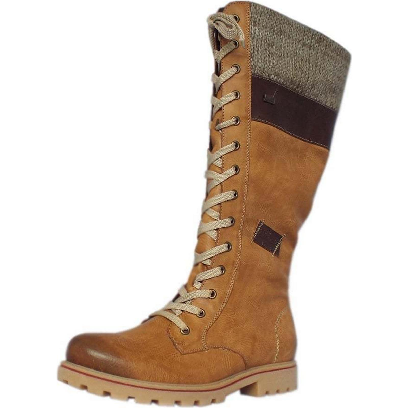rieker snowboard rieker mesdames longtemps bottes taille: taille: taille: 35, couleur sable f0a24b