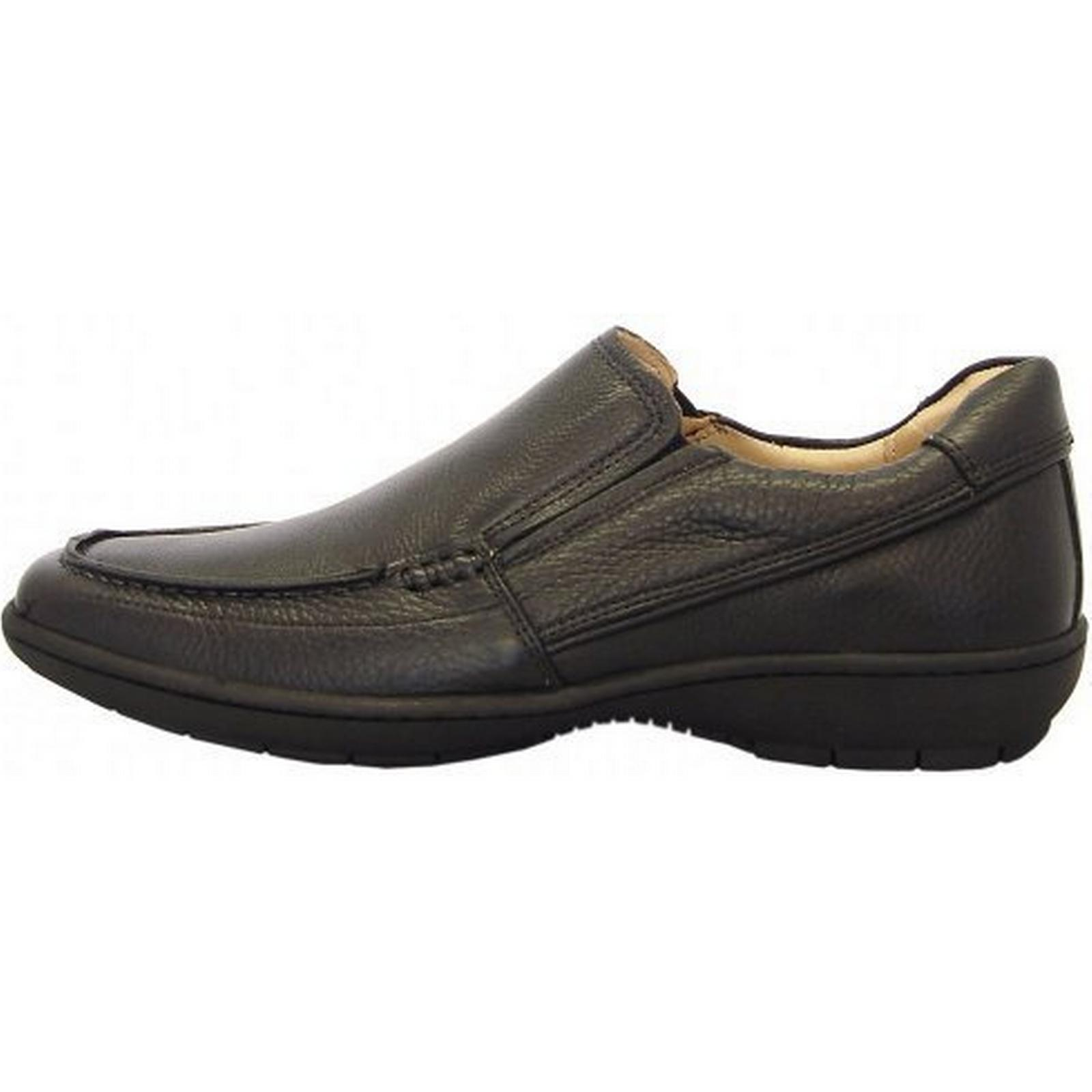 Anatomic&Co Sobral smart casual mens slip on shoes shoes on in black Size: 45, 7a698d