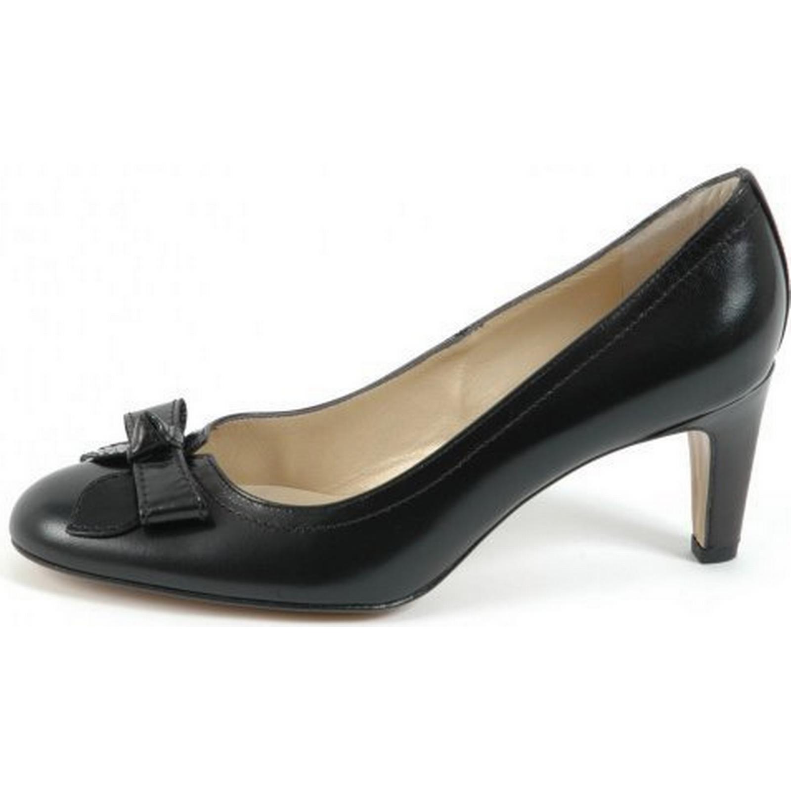 peter cour kaiser brooke  s cour peter de chaussures en cuir noir taille: 5,5, col 40d112