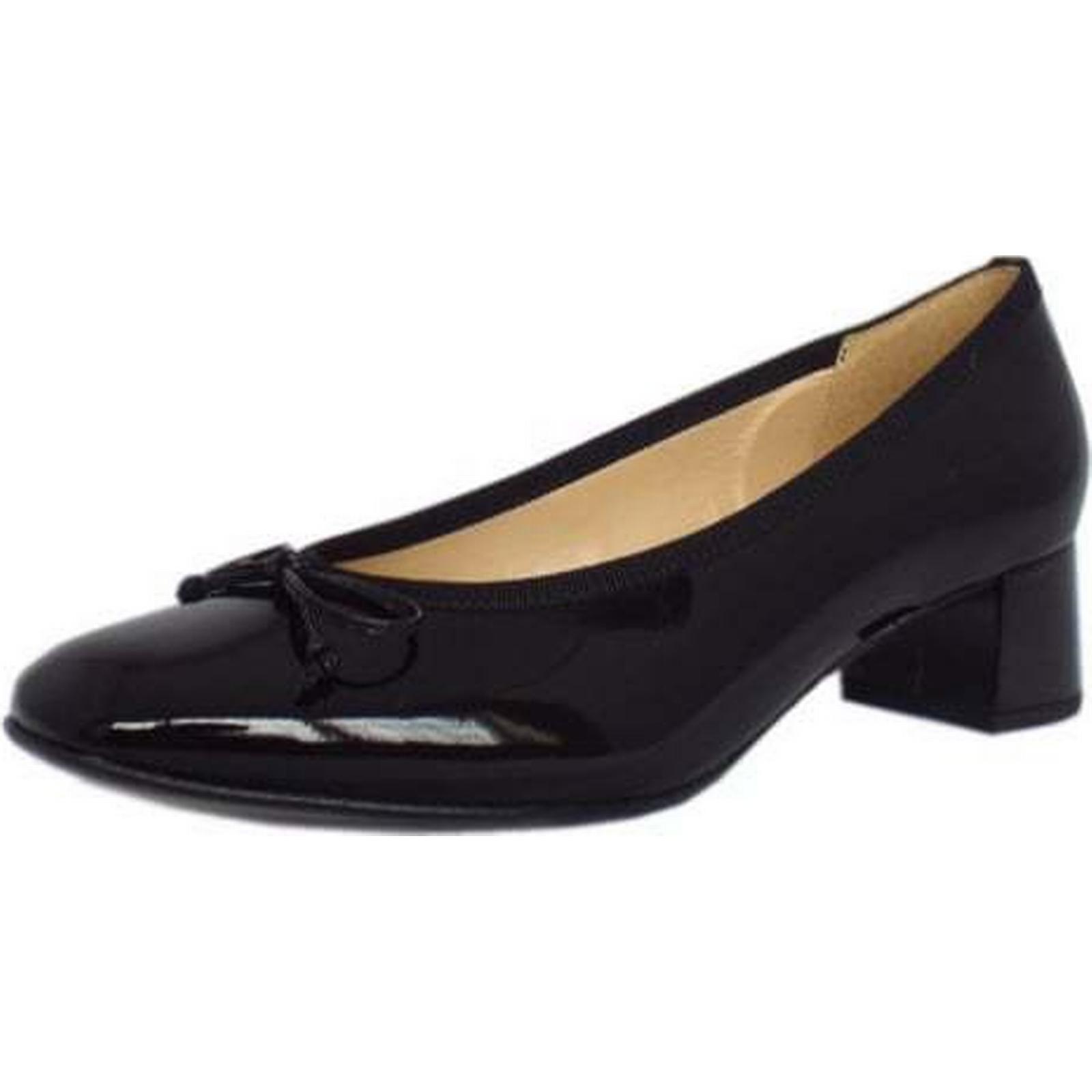Gabor BELFAST GABOUR LADIES LADIES GABOUR SHOES Size: 3, Colour: BLACK PATN 1a086b