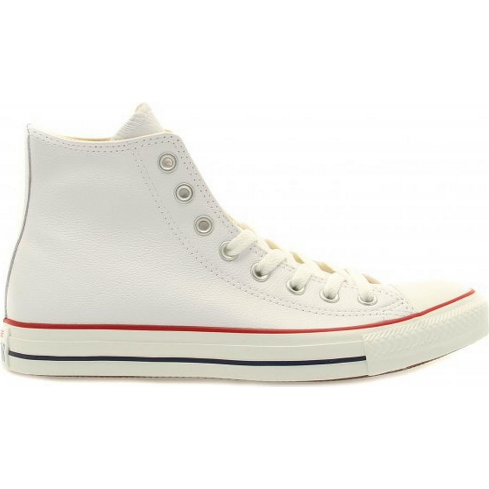 Converse White Leather Chuck Taylor All Star Size: Hi Size: Star 10 UK 3b1faa