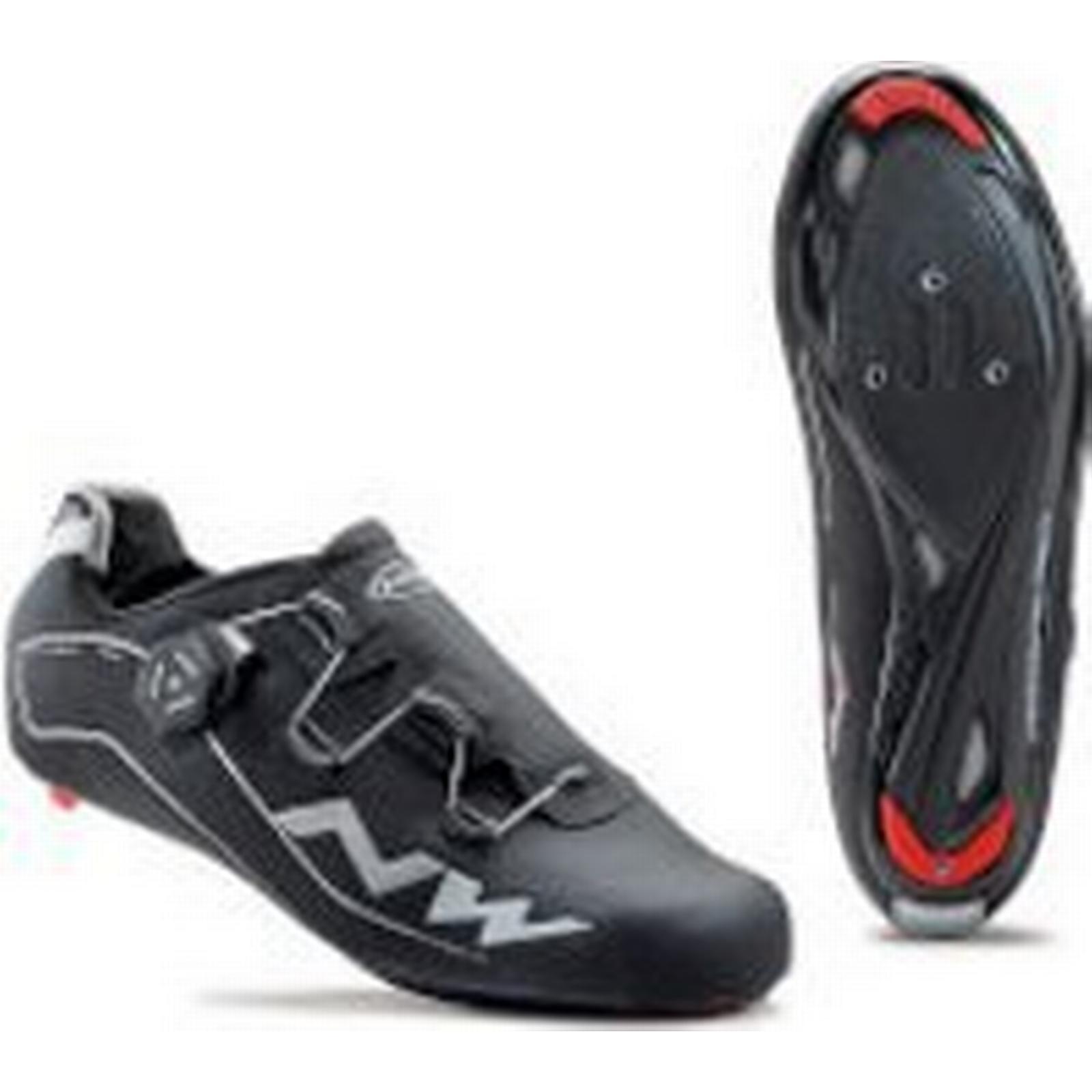 Northwave UK Flash Thinsulate Winter Shoes - Black - UK Northwave 12/EU 46 - Black a3dd69