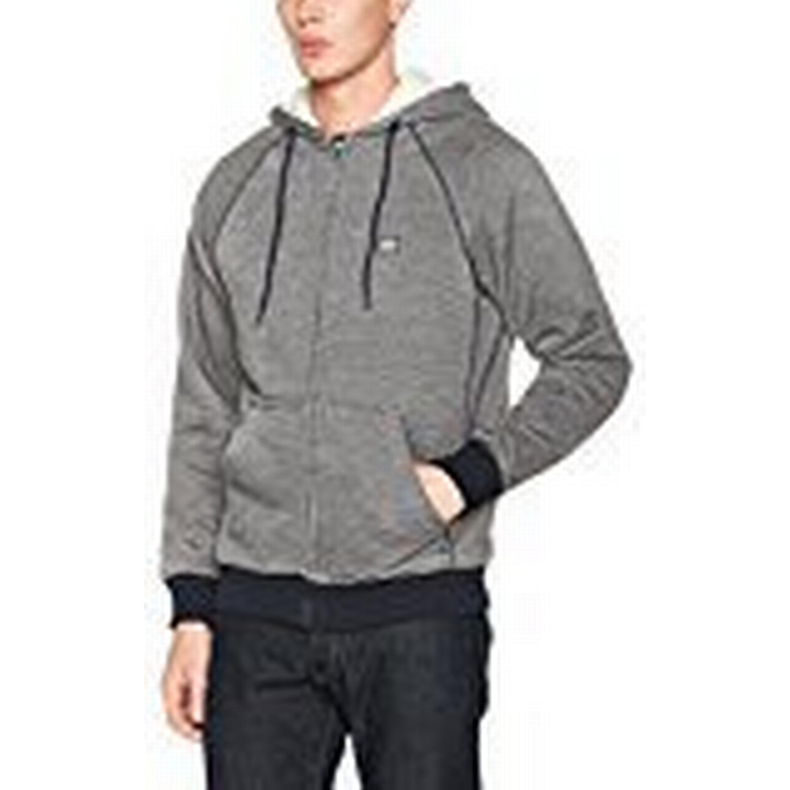 Billabong Balance Hoody, Sherpa, Men's Zip Up Hoody, Balance Men's, Balance Sherpa, marine, M 354295