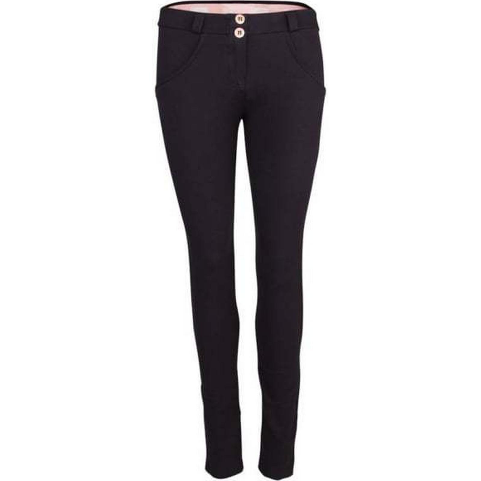 Freddy Womens Basic Black Mid Rise Skinny Size: Jeans Size: Skinny L 187308
