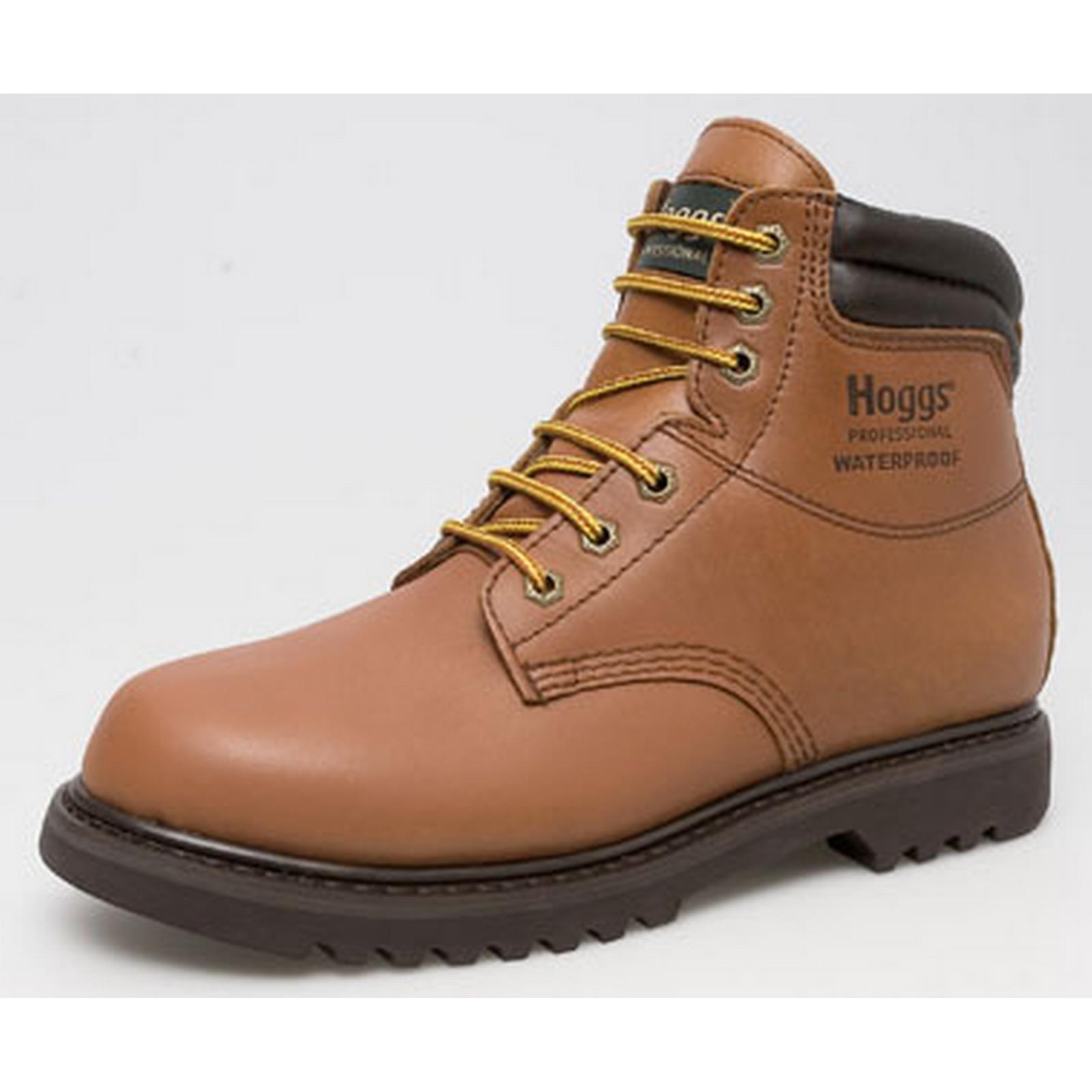 Hoggs Golden Mens Wateproof Boots Atlas Golden Hoggs Tan 6 f8ab59