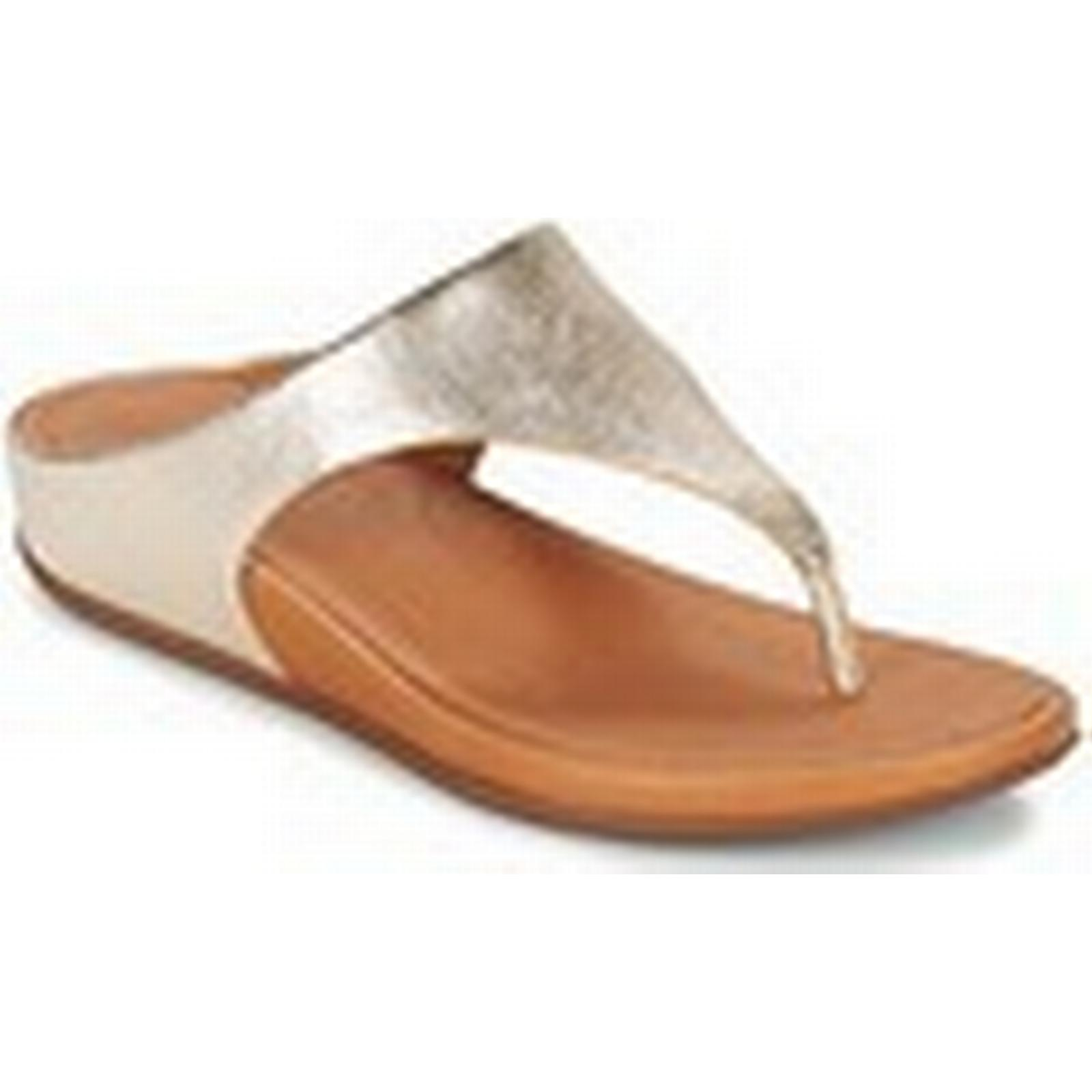 fitflop banda femmes &  #  & 27; s tongs / chaussures (chaussures) en or 9e482c