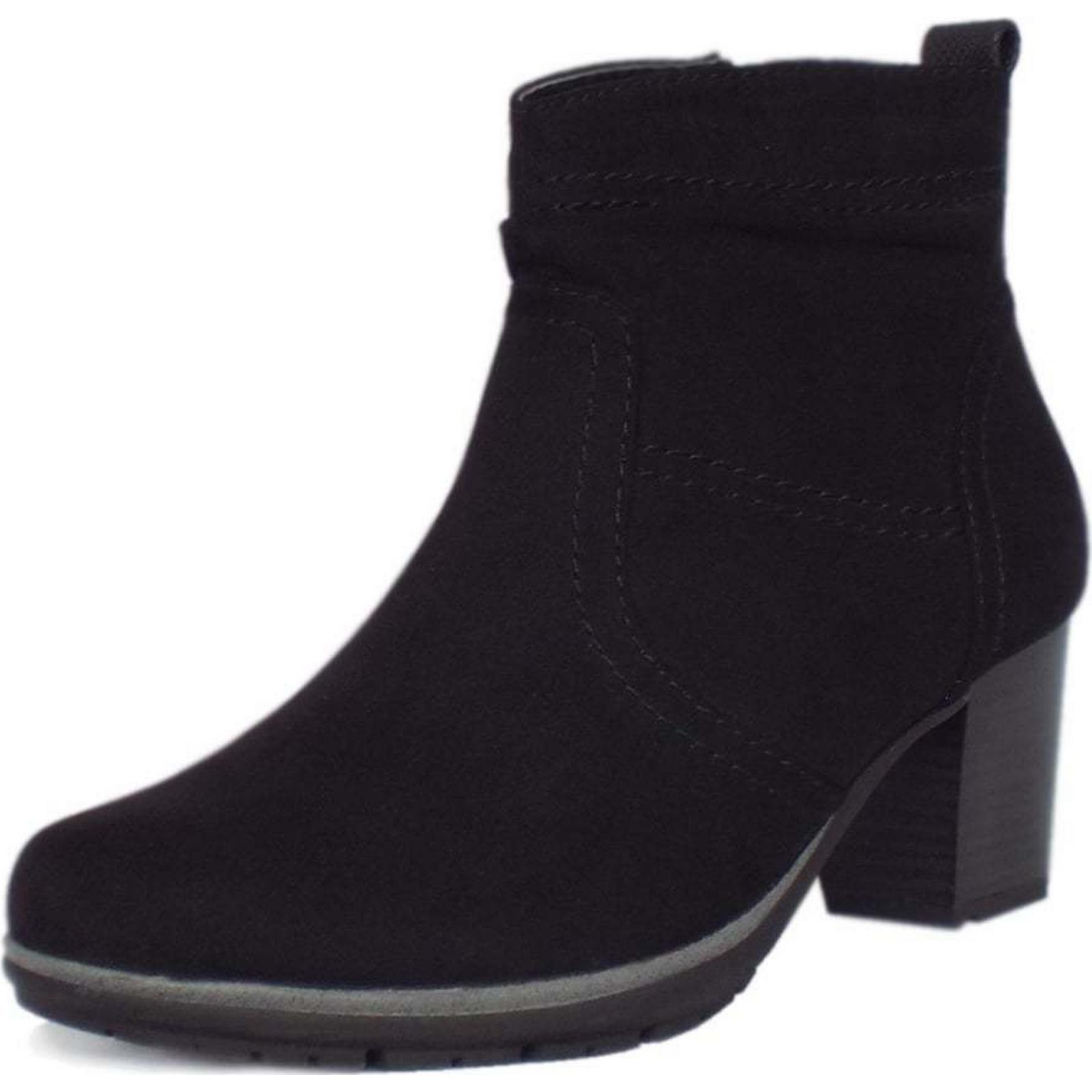 jana milton soft line bottines mesdames bottines line taille: 46, la couleur: noir b66243
