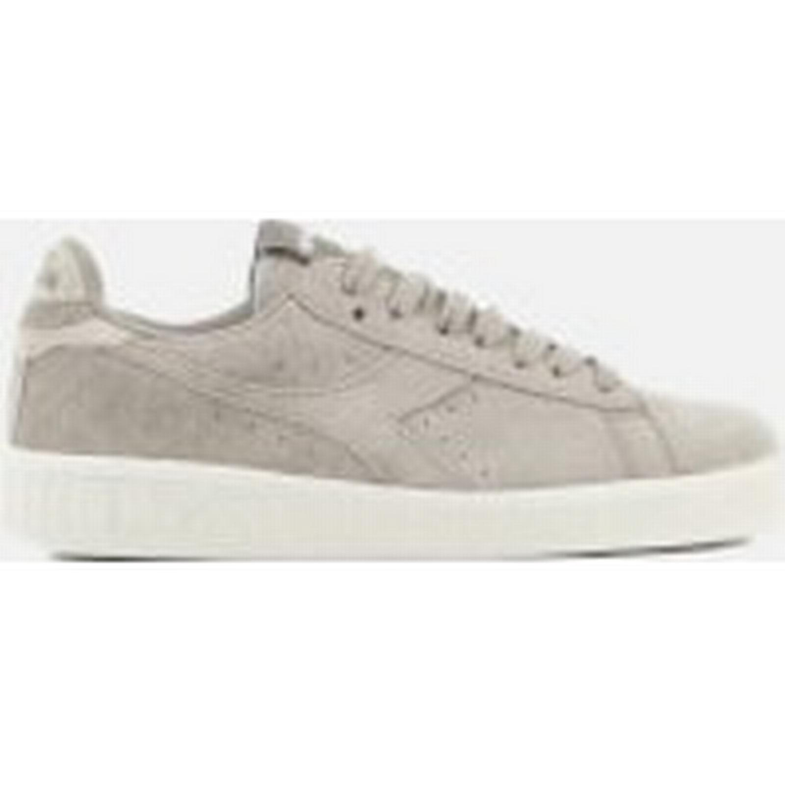 Diadora Women's Game Low Grey S Suede Trainers - Grey Low Silver 2d74c9