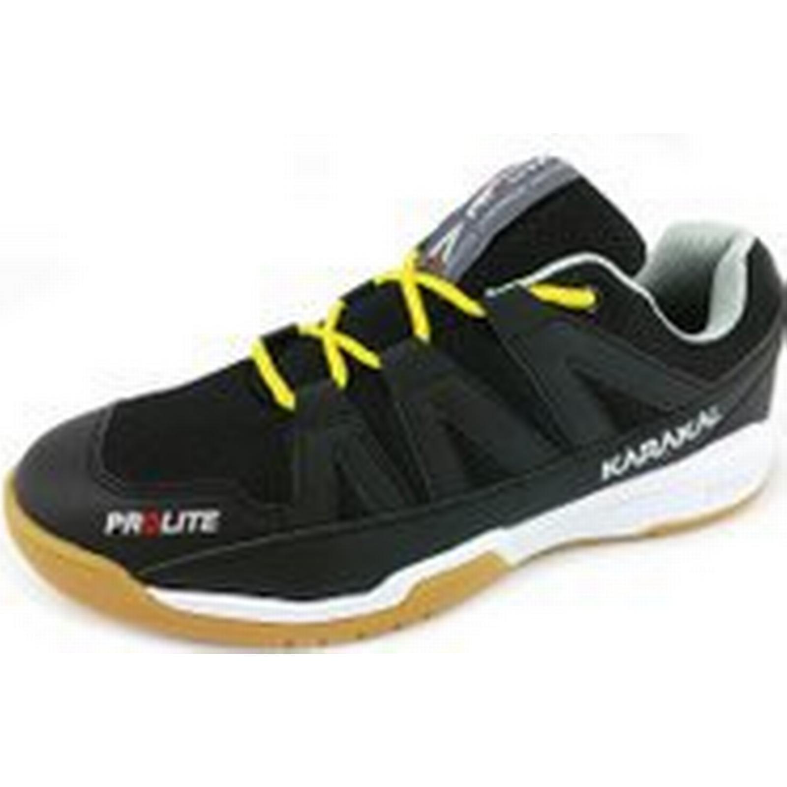 Karakal Prolite Indoor Court UK Shoes - Black, 9 UK Court 7fc821