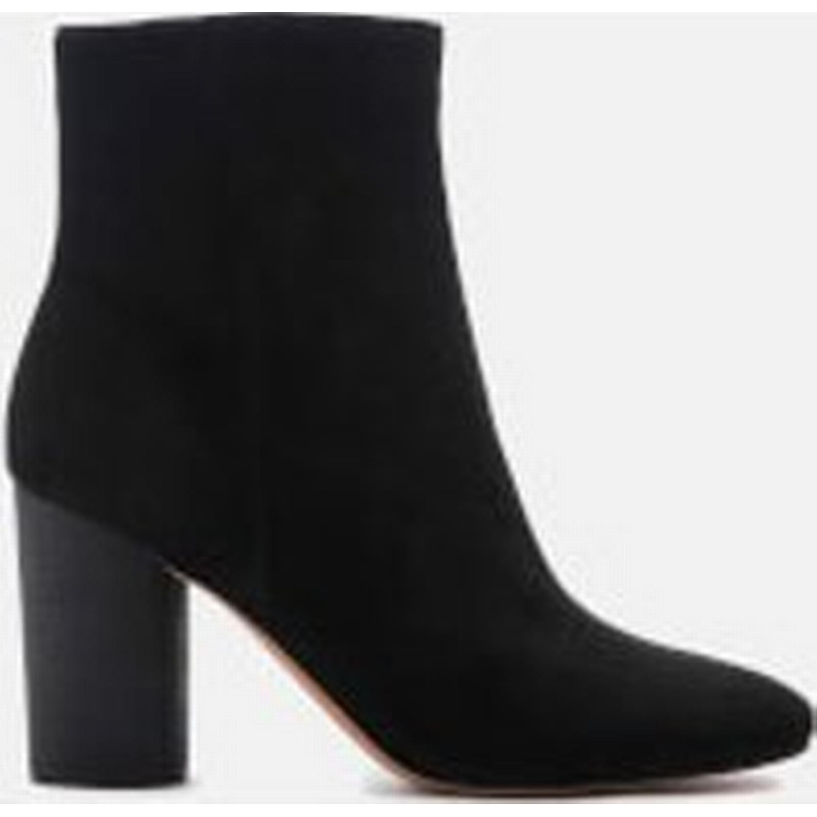 Sam Edelman Women's Corra - Suede Heeled Ankle Boots - Corra Black - US 9/UK 7 - Black 817049