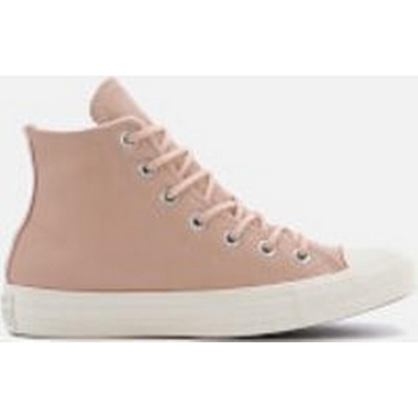 Converse Women's Chuck Taylor - All Star Hi-Top Trainers - Taylor Dusk Pink/Dusk Pink.Egret - UK 4 - Pink 040e0b