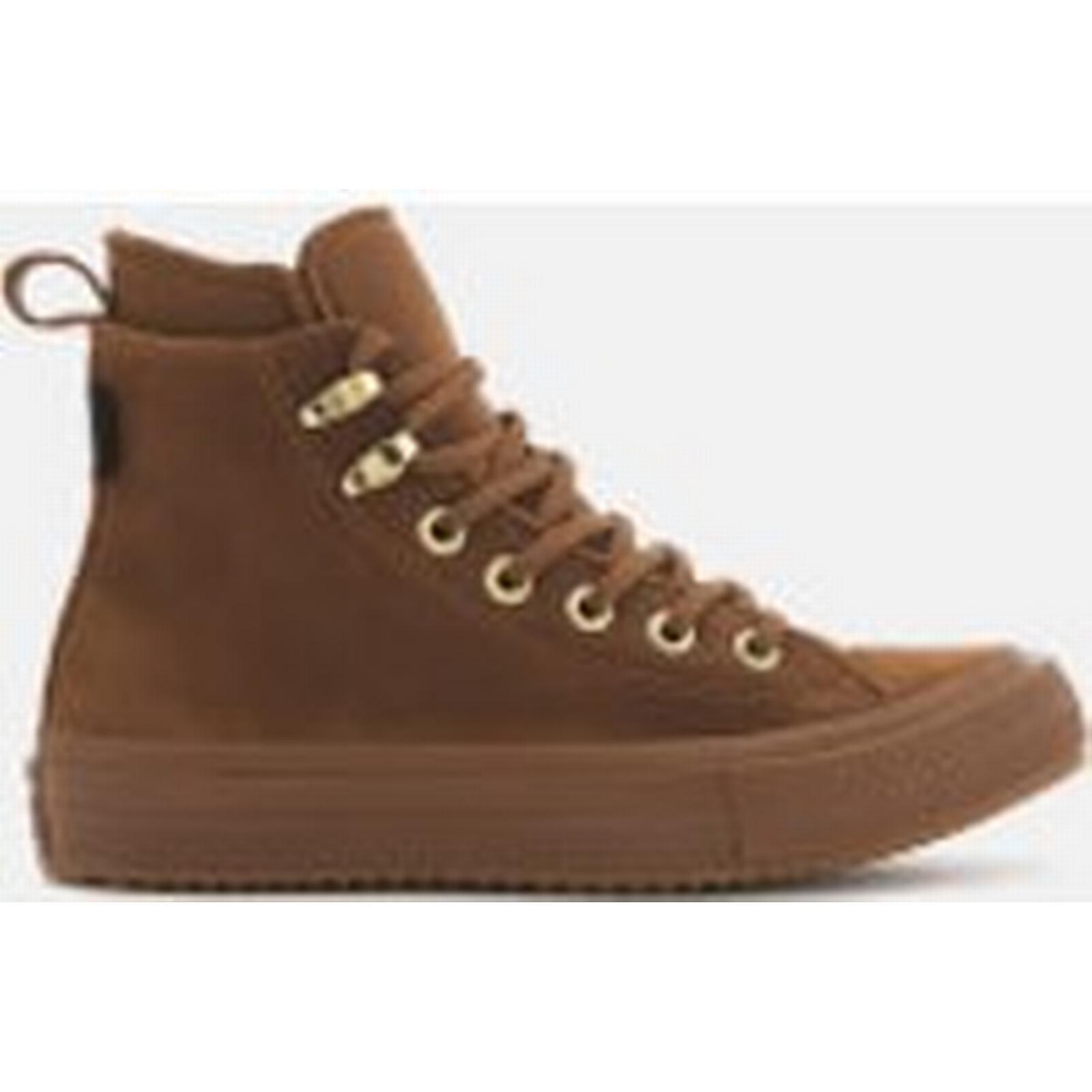 Converse Women's Chuck Taylor All Brown/Brown/Brass Star Waterproof Boots - Brown/Brown/Brass All a7f693